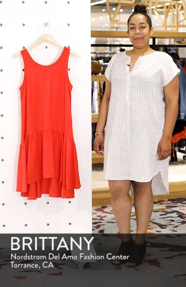 Ruffle Hem Swing Dress, sales video thumbnail