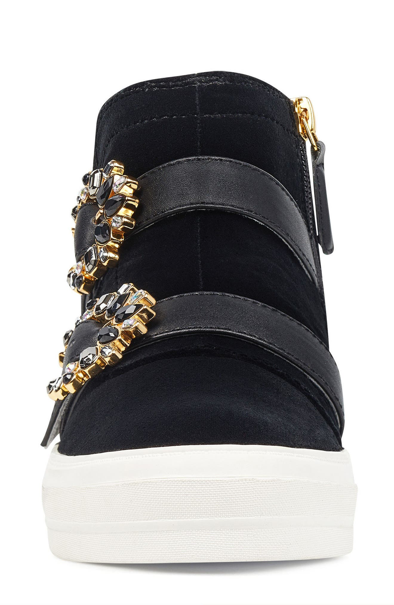 Orisna High Top Sneaker,                             Alternate thumbnail 4, color,                             002