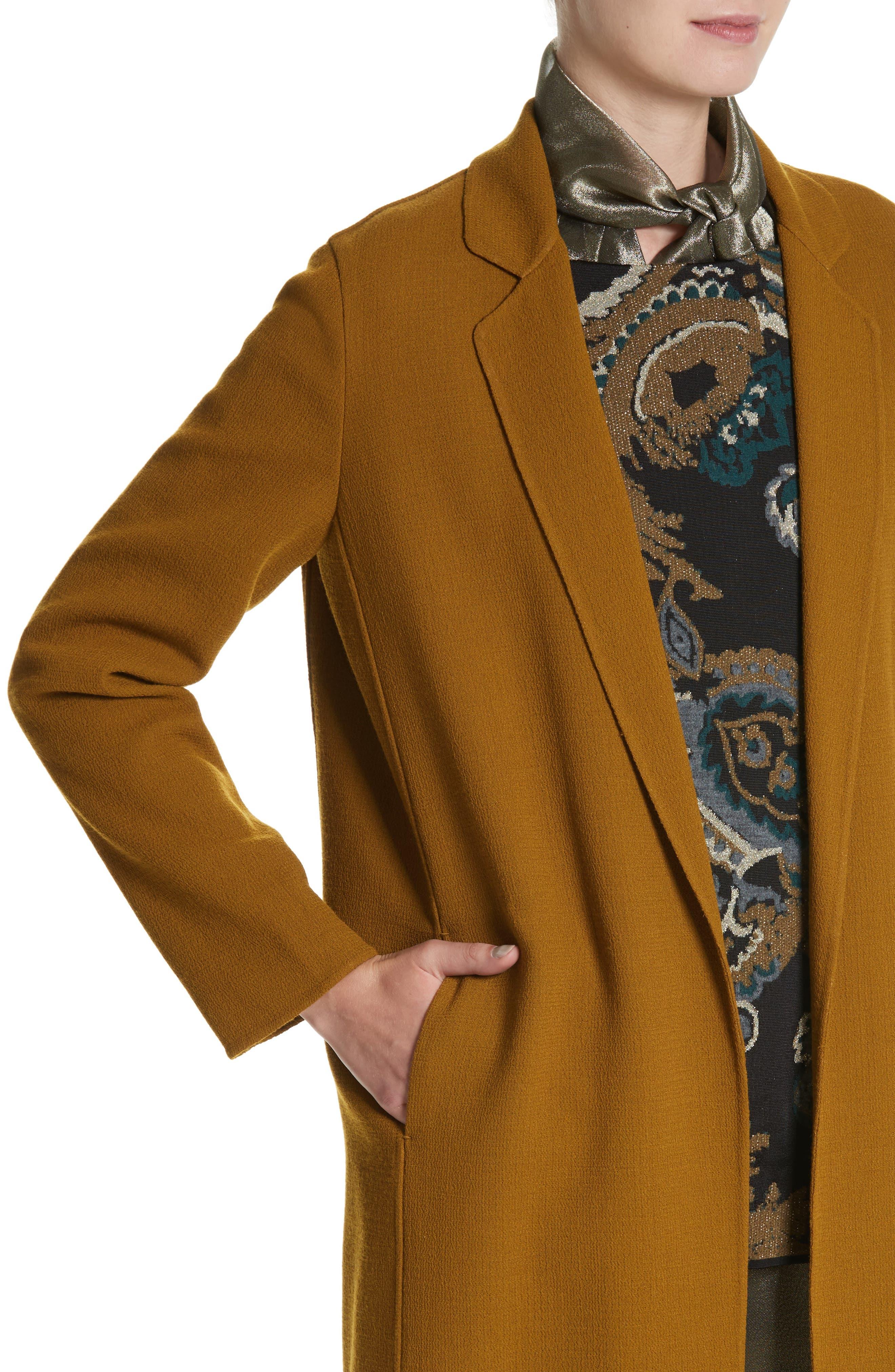 Jolina Nouveau Crepe Jacket,                             Alternate thumbnail 4, color,                             358