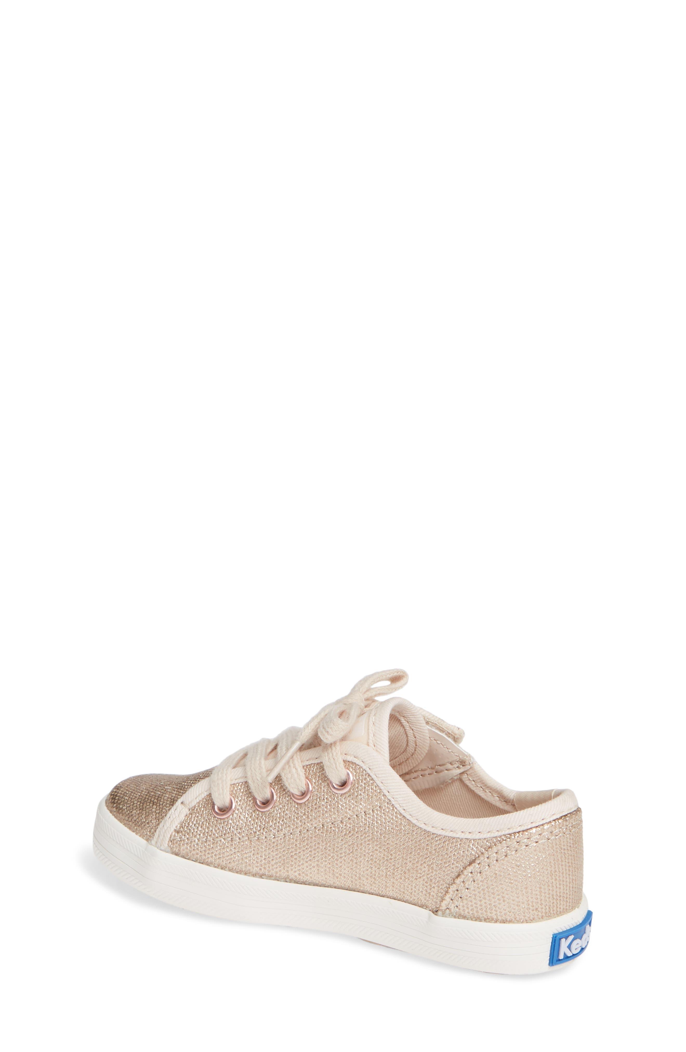 Kickstart Core Metallic Sneaker,                             Alternate thumbnail 2, color,                             ROSE GOLD