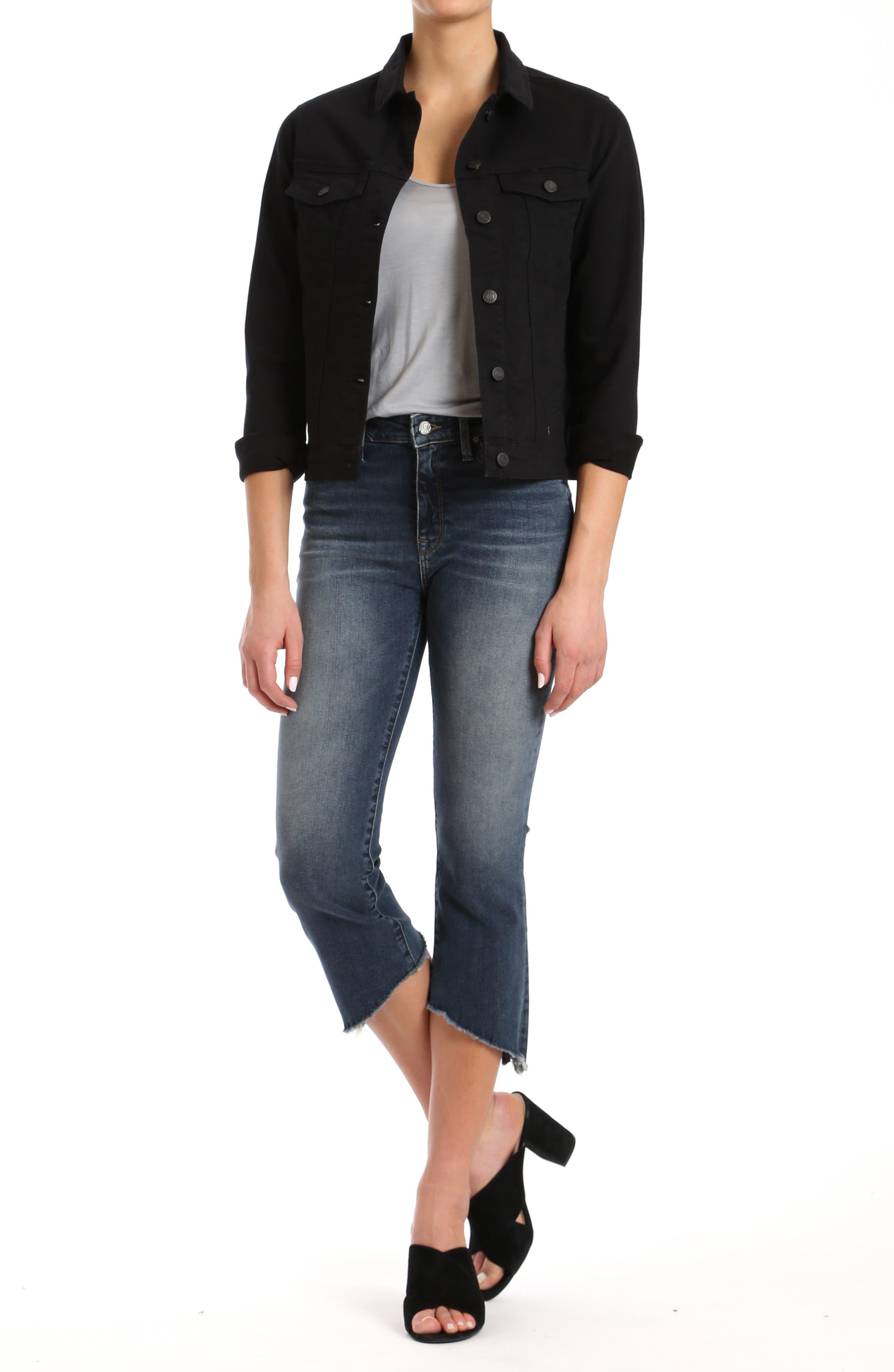 Katy Black Comfort Jacket,                             Alternate thumbnail 6, color,                             001