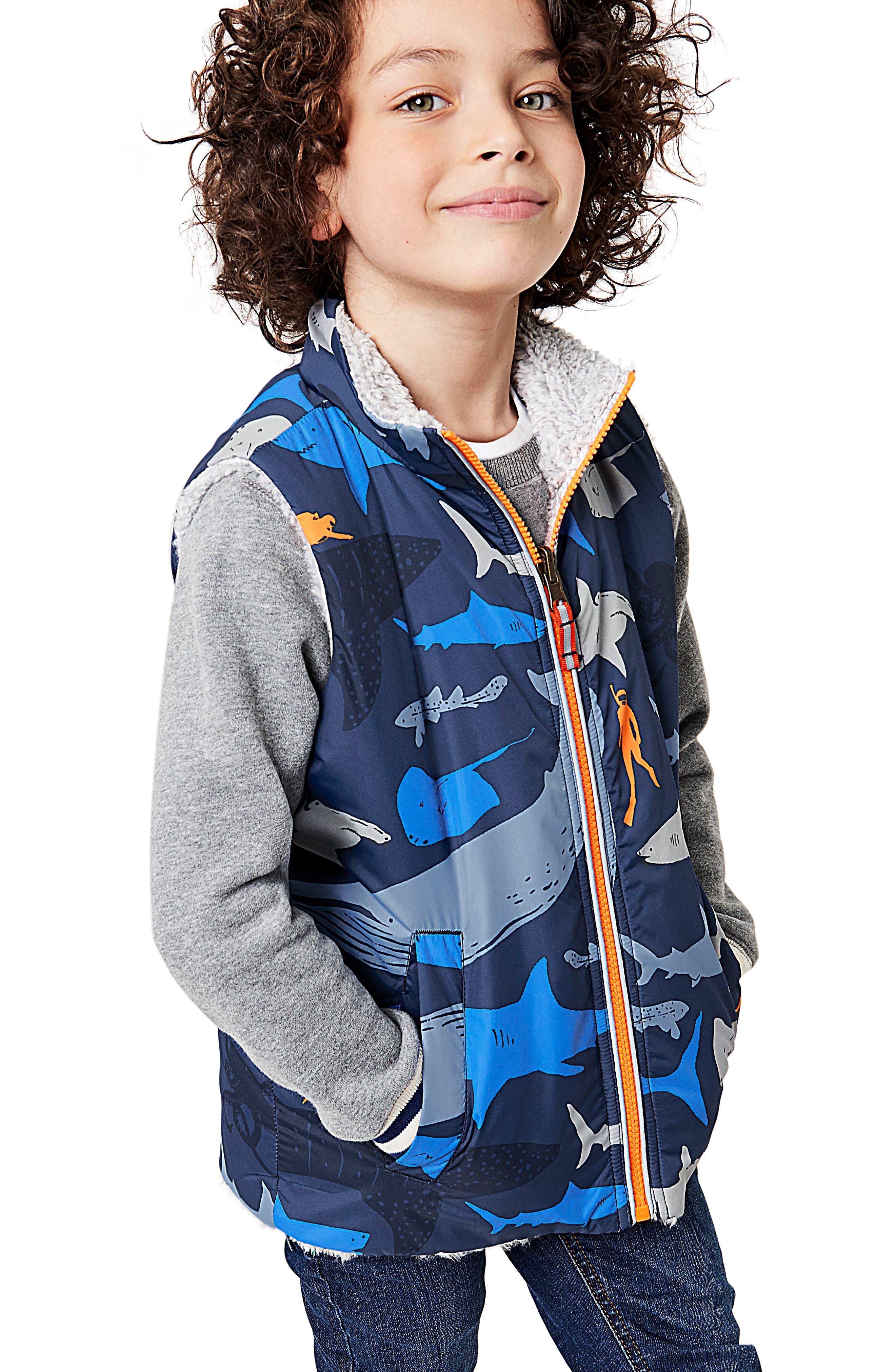 Reversible Vest,                         Main,                         color,