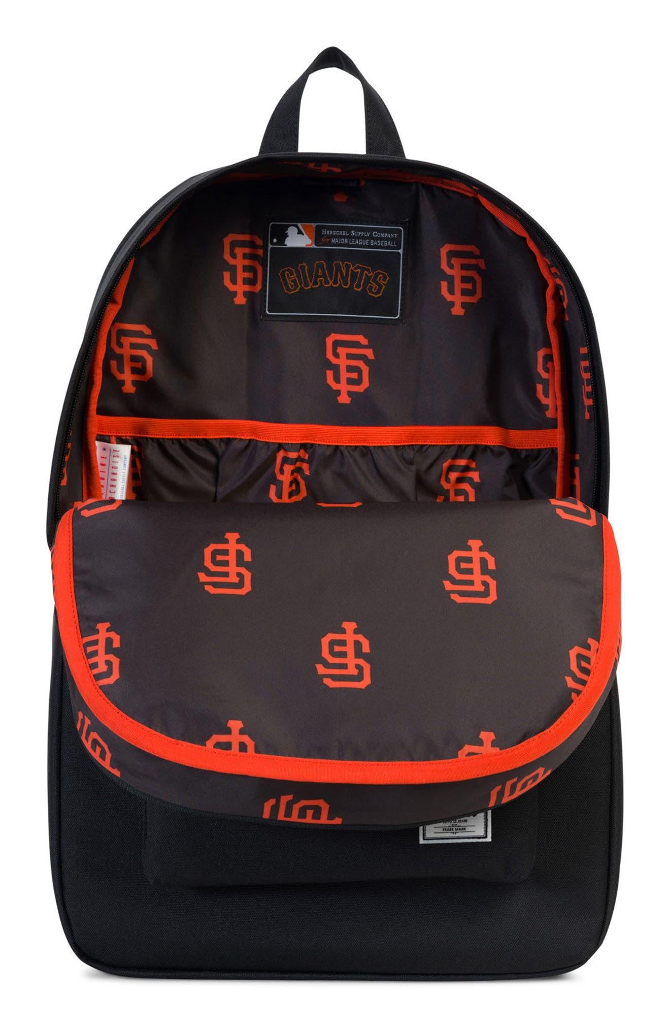 Heritage San Francisco Giants Backpack,                             Alternate thumbnail 3, color,                             008