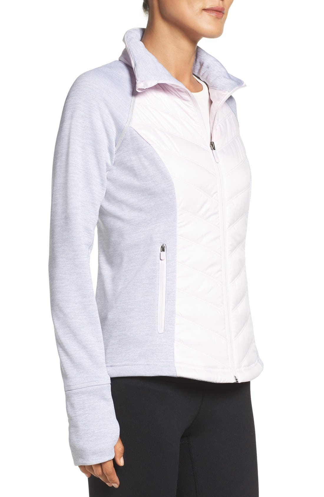 Zelfusion Reflective Quilted Jacket,                             Alternate thumbnail 27, color,