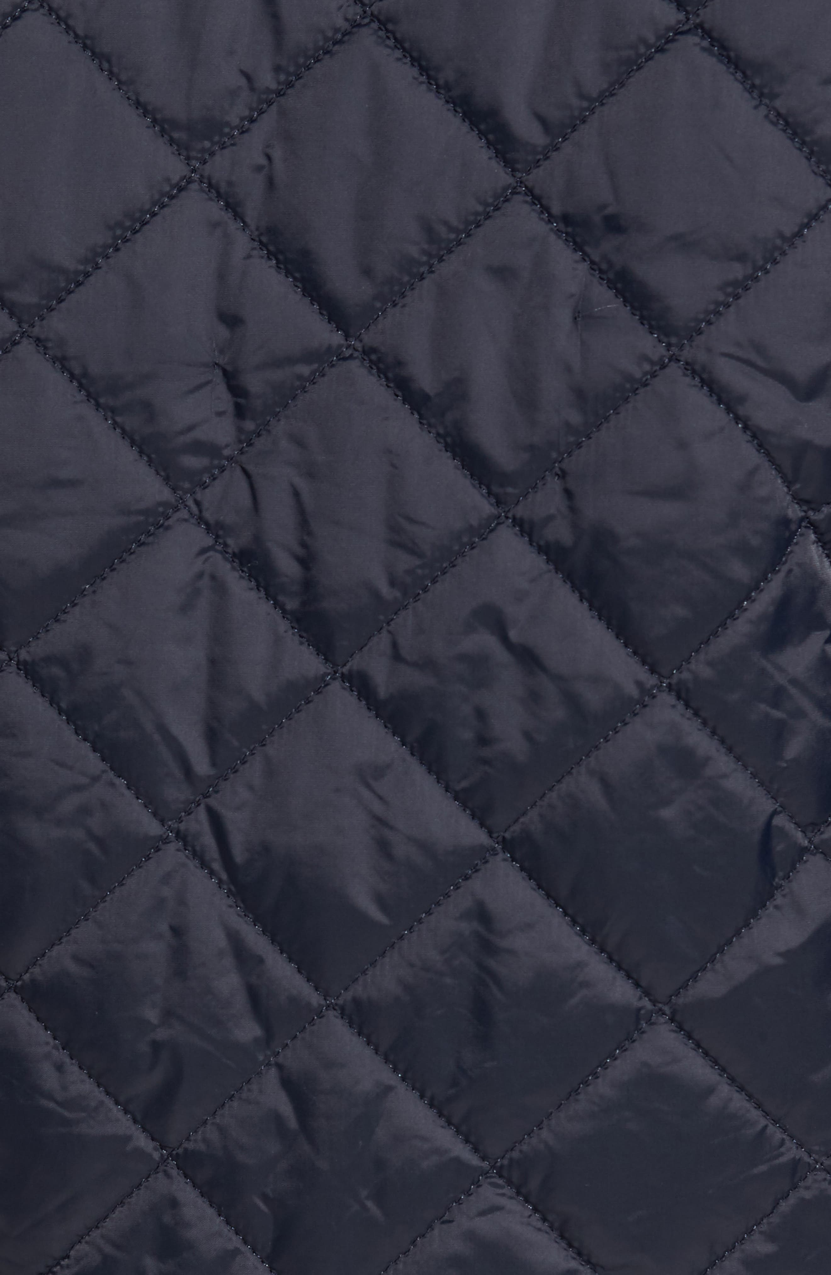 Holme Quilted Water-Resistant Jacket,                             Alternate thumbnail 7, color,                             NAVY