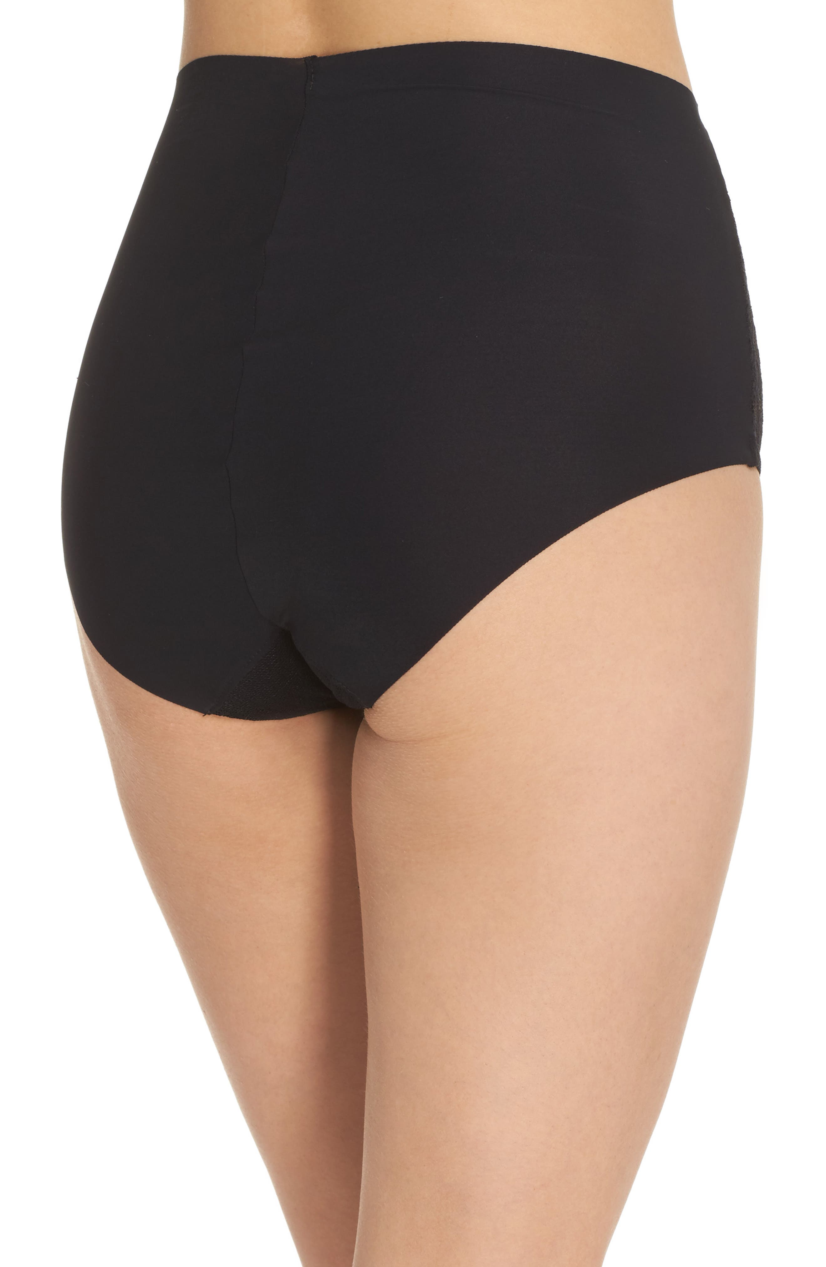 Double Take High Waist Brief,                             Alternate thumbnail 2, color,                             001