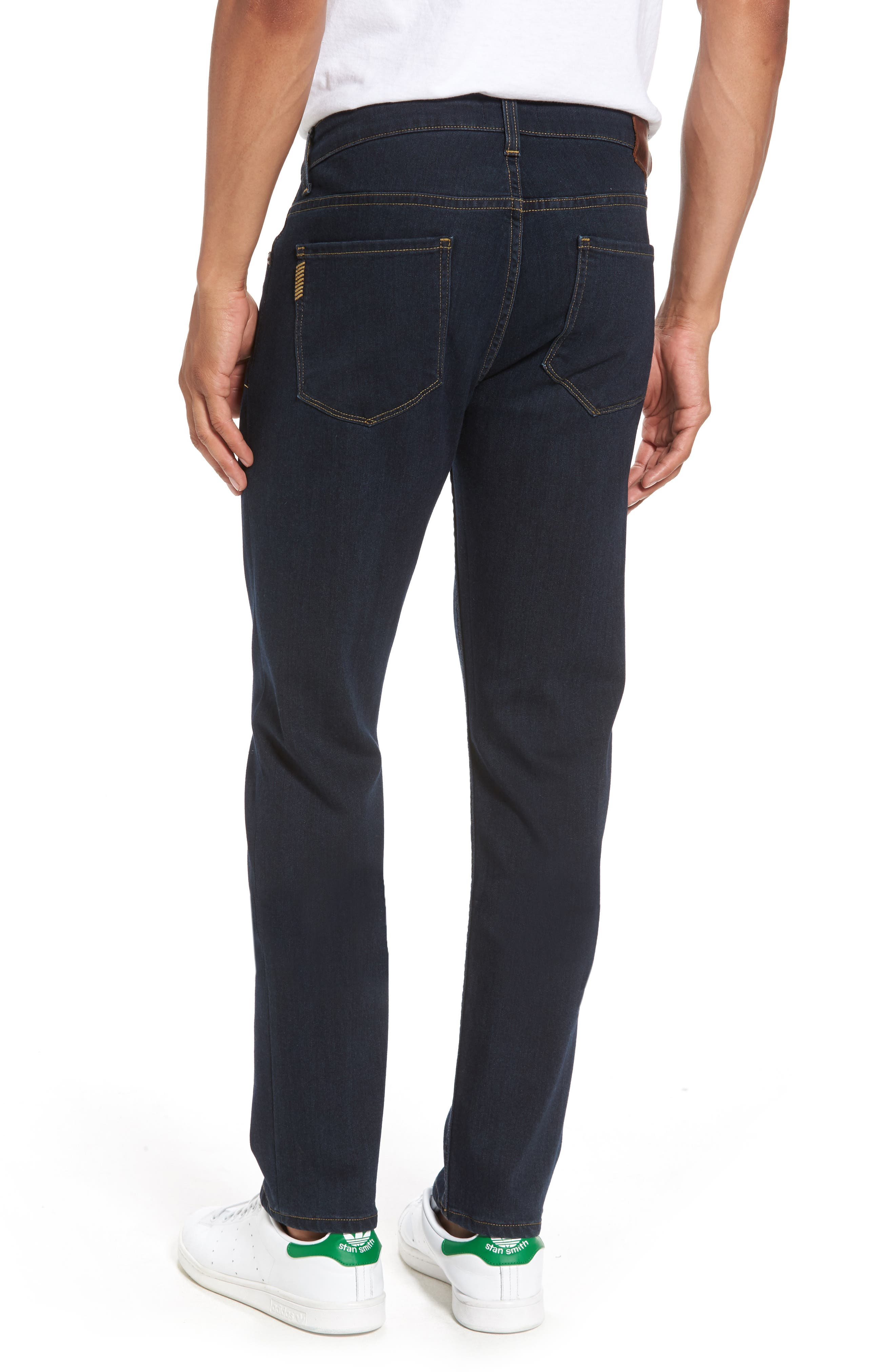 Transcend - Lennox Slim Fit Jeans,                             Alternate thumbnail 2, color,                             400