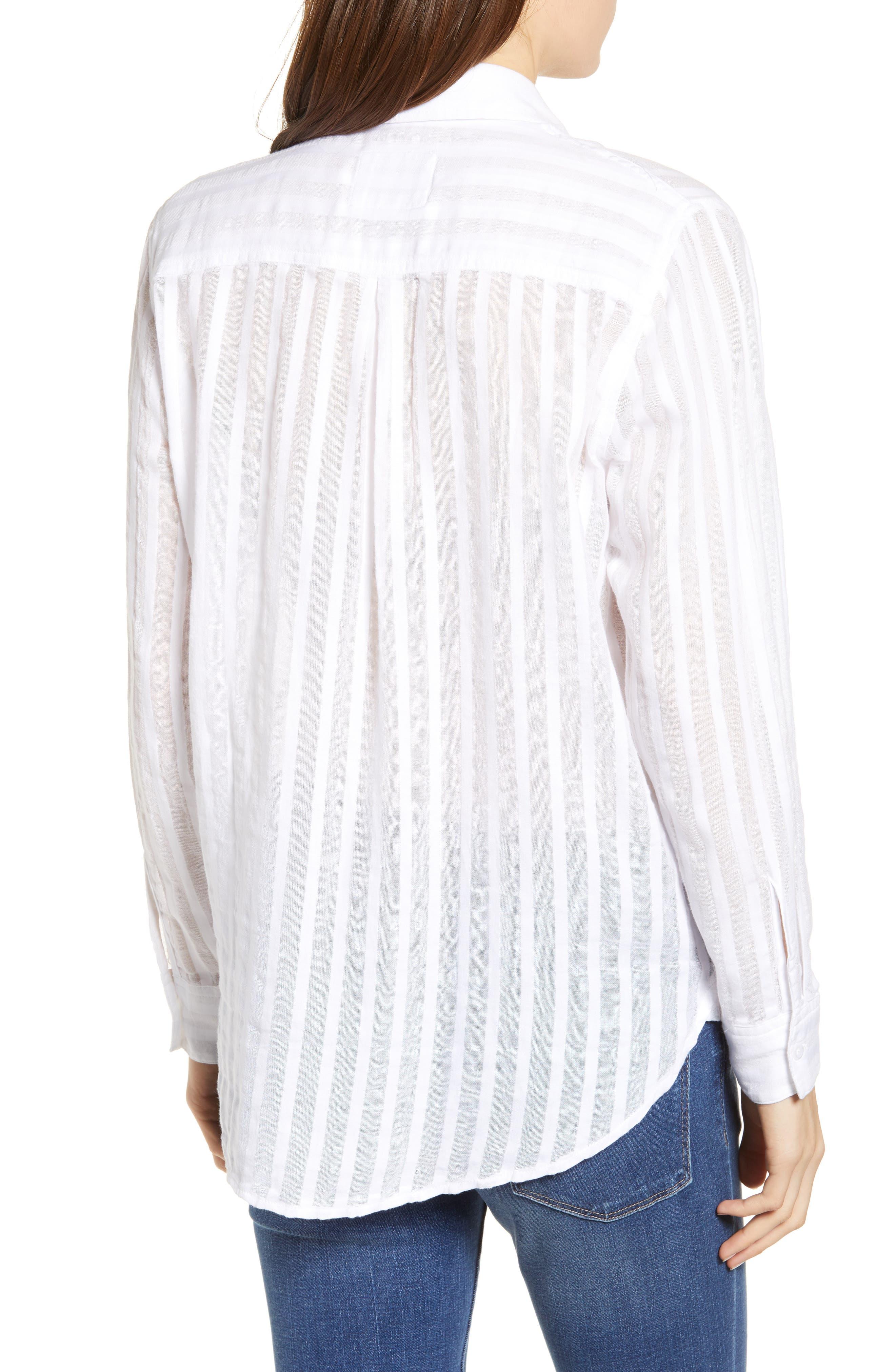 Charli Cotton Shirt,                             Alternate thumbnail 2, color,                             135