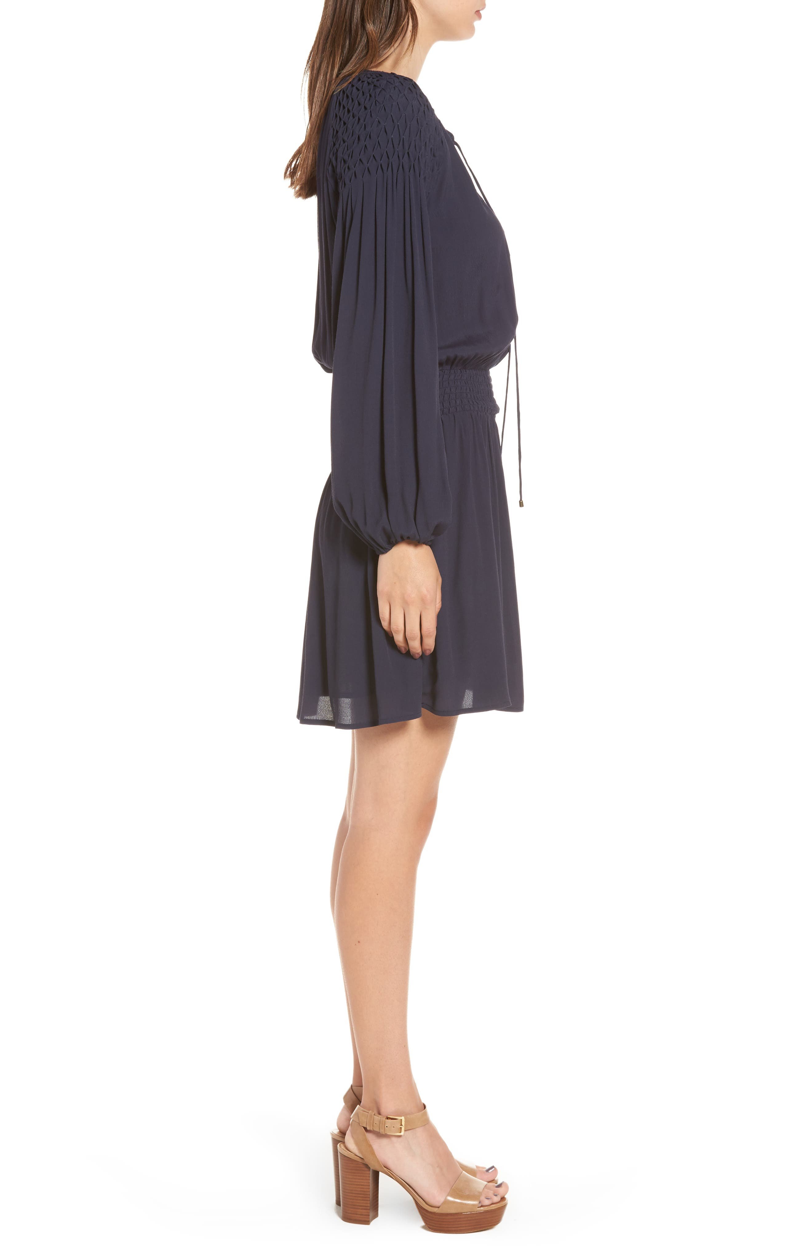 Melinda Blouson Dress,                             Alternate thumbnail 5, color,