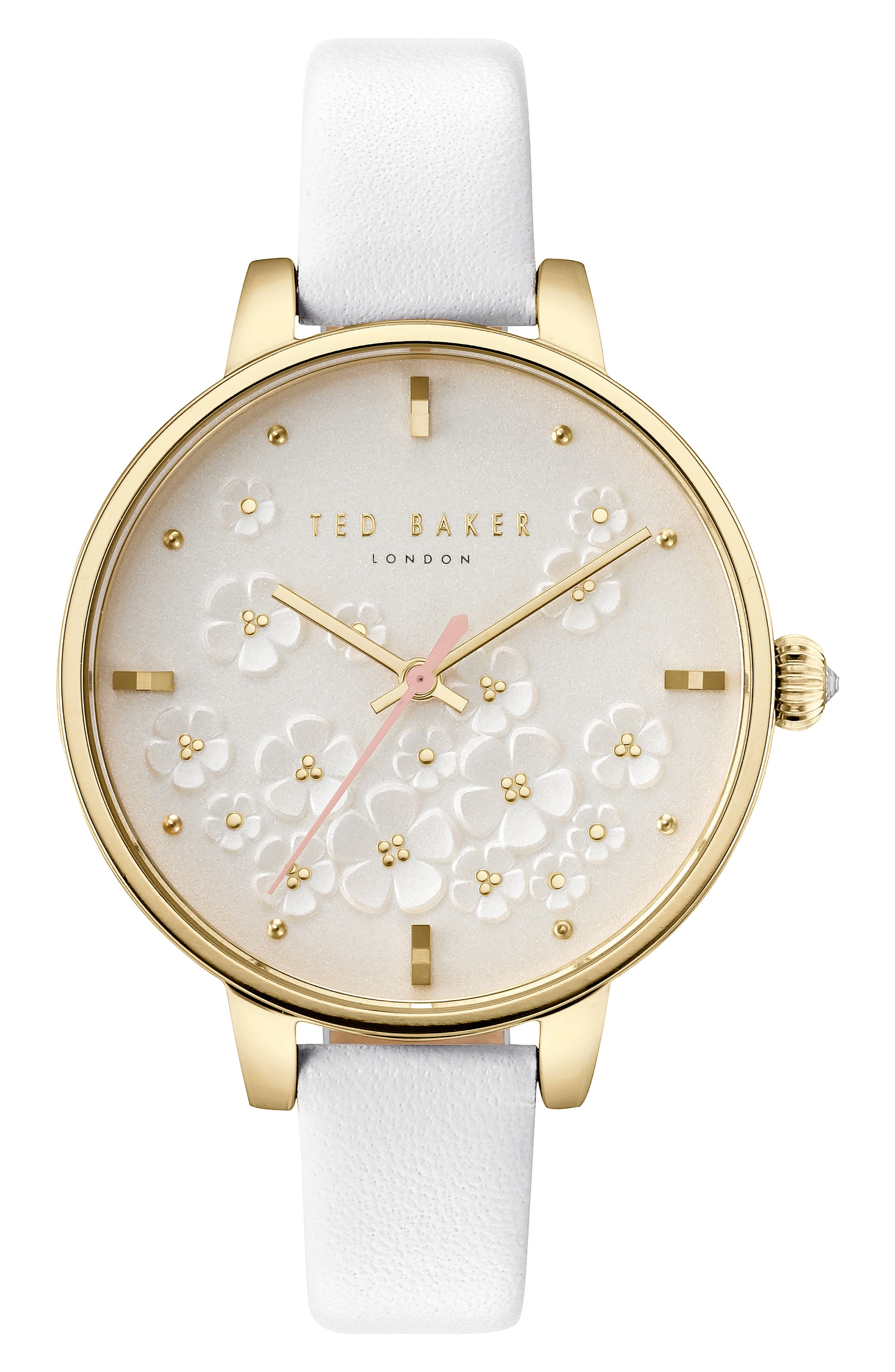 Kate Leather Strap Watch, 36mm,                         Main,                         color, 100