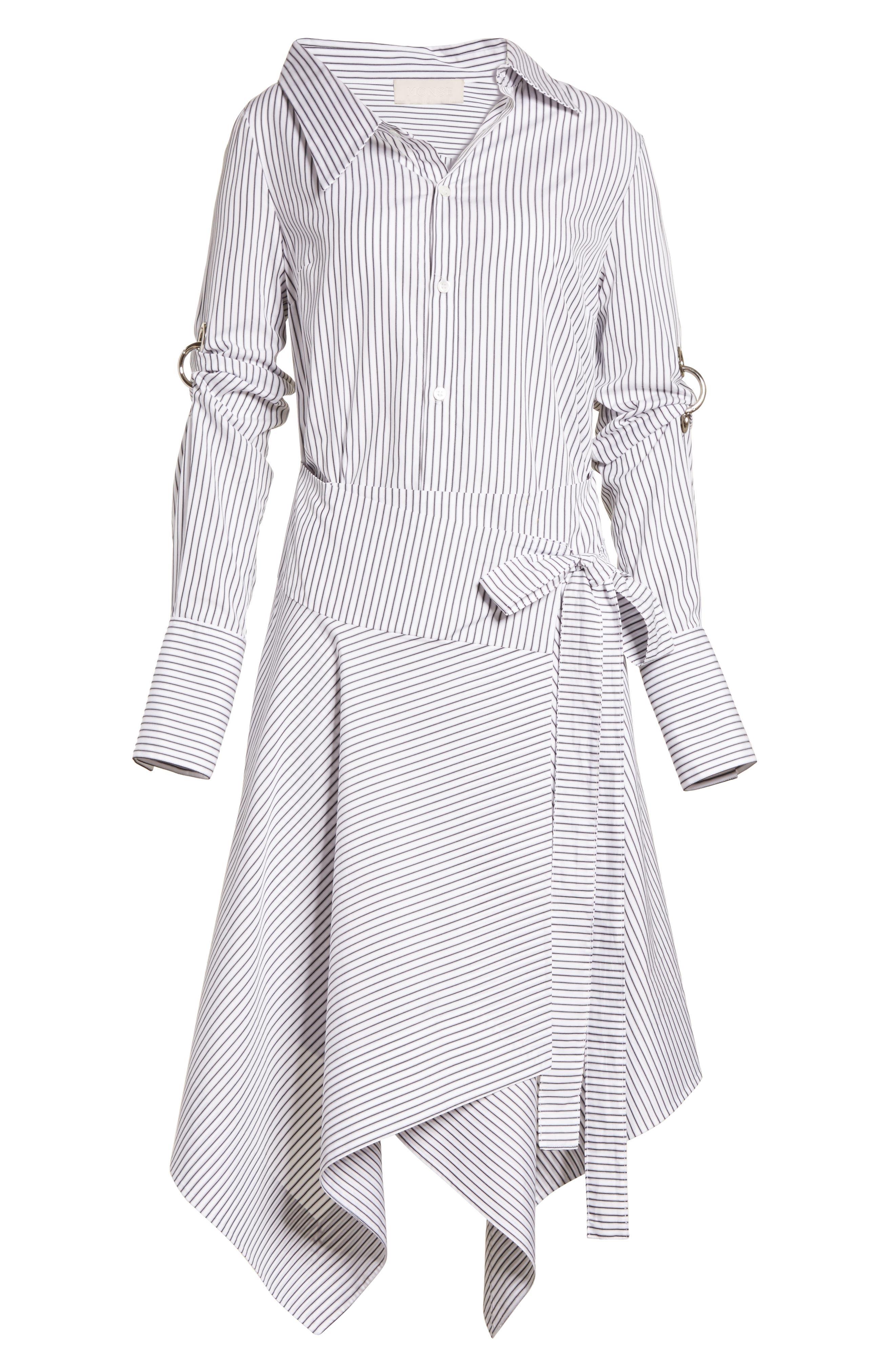 Wrap Shirtdress,                             Alternate thumbnail 6, color,                             162