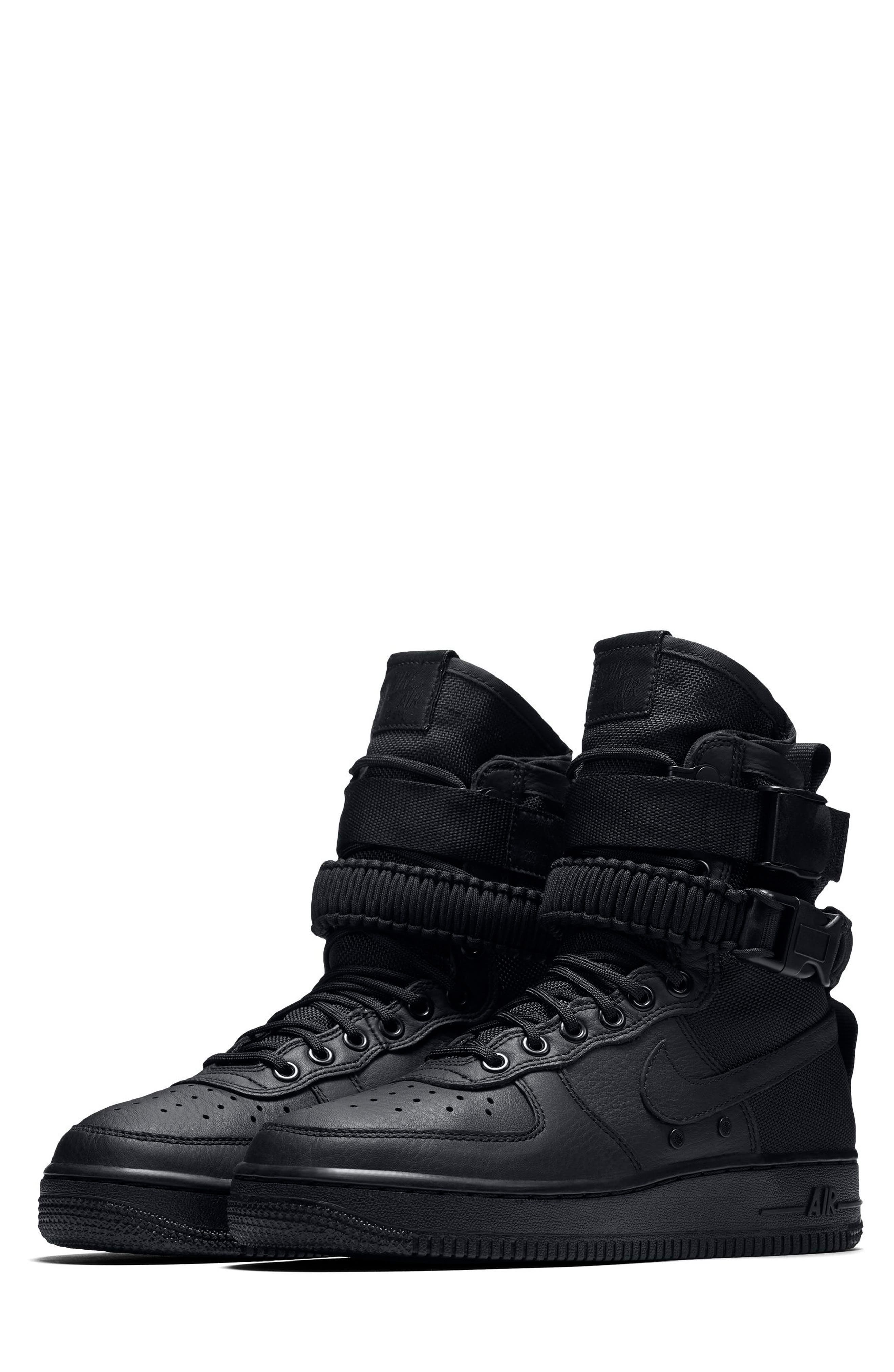 SF Air Force 1 High Top Sneaker,                             Main thumbnail 1, color,                             002