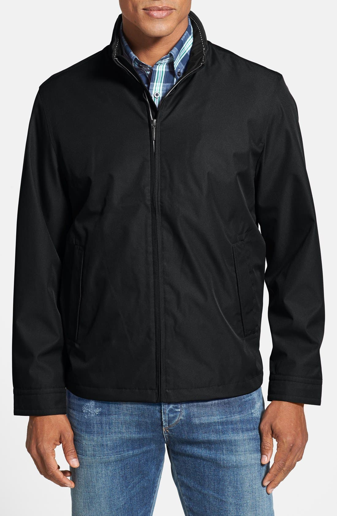 Waterproof & Windproof Bomber,                             Main thumbnail 2, color,