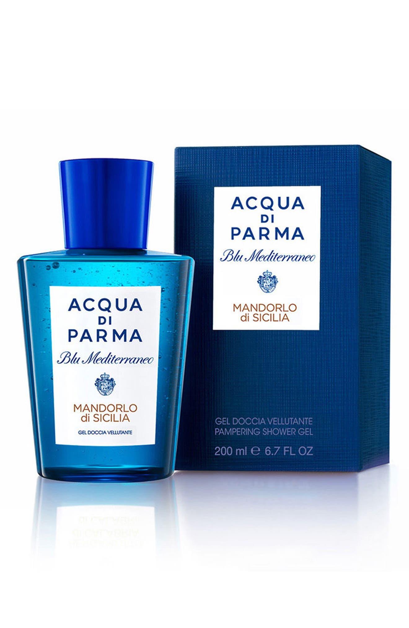 'Blu Mediterraneo - Mandorlo di Sicilia' Shower Gel,                             Alternate thumbnail 3, color,                             NO COLOR