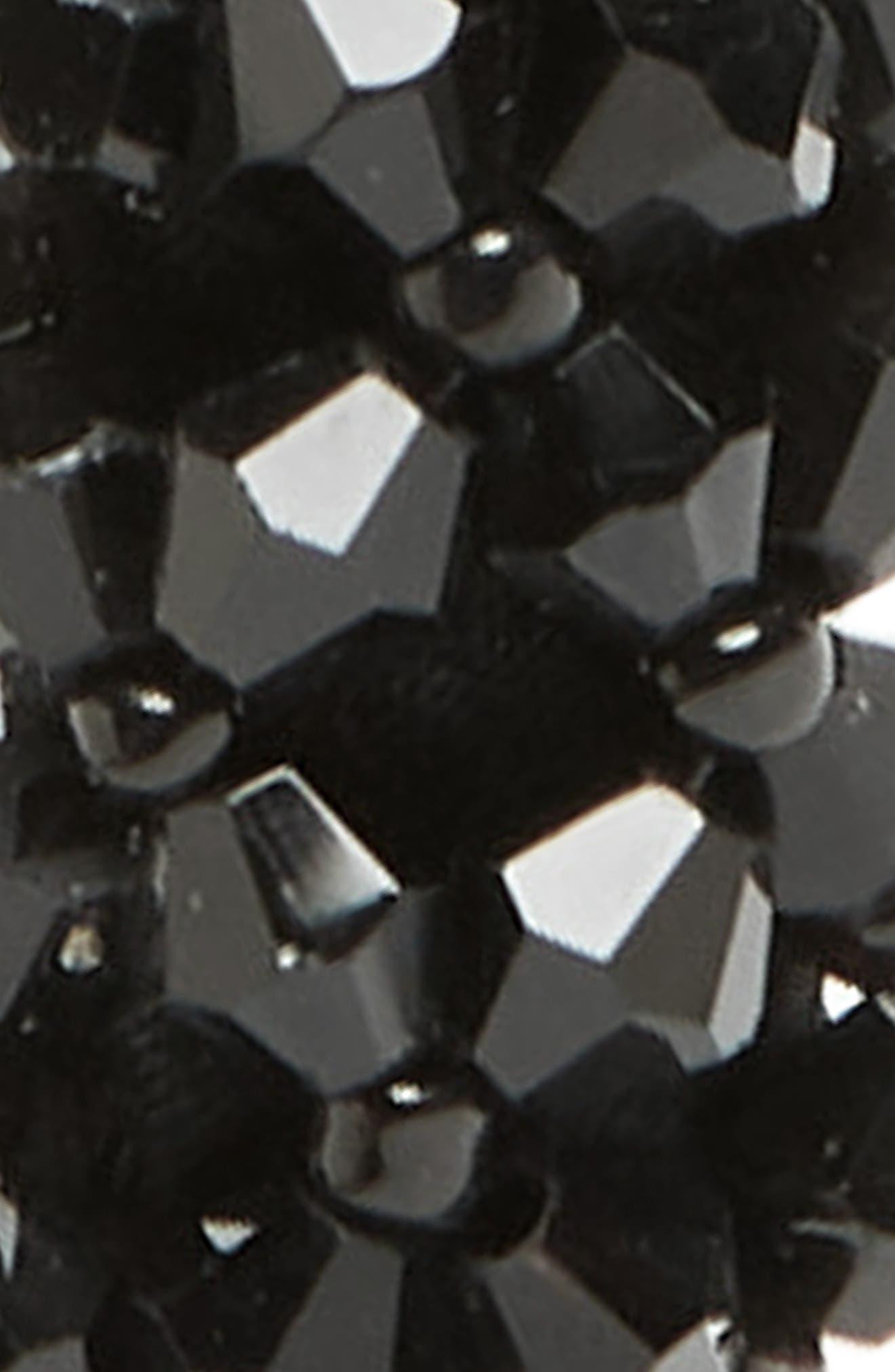 Embellished Skinny Headband,                             Alternate thumbnail 2, color,                             BLACK