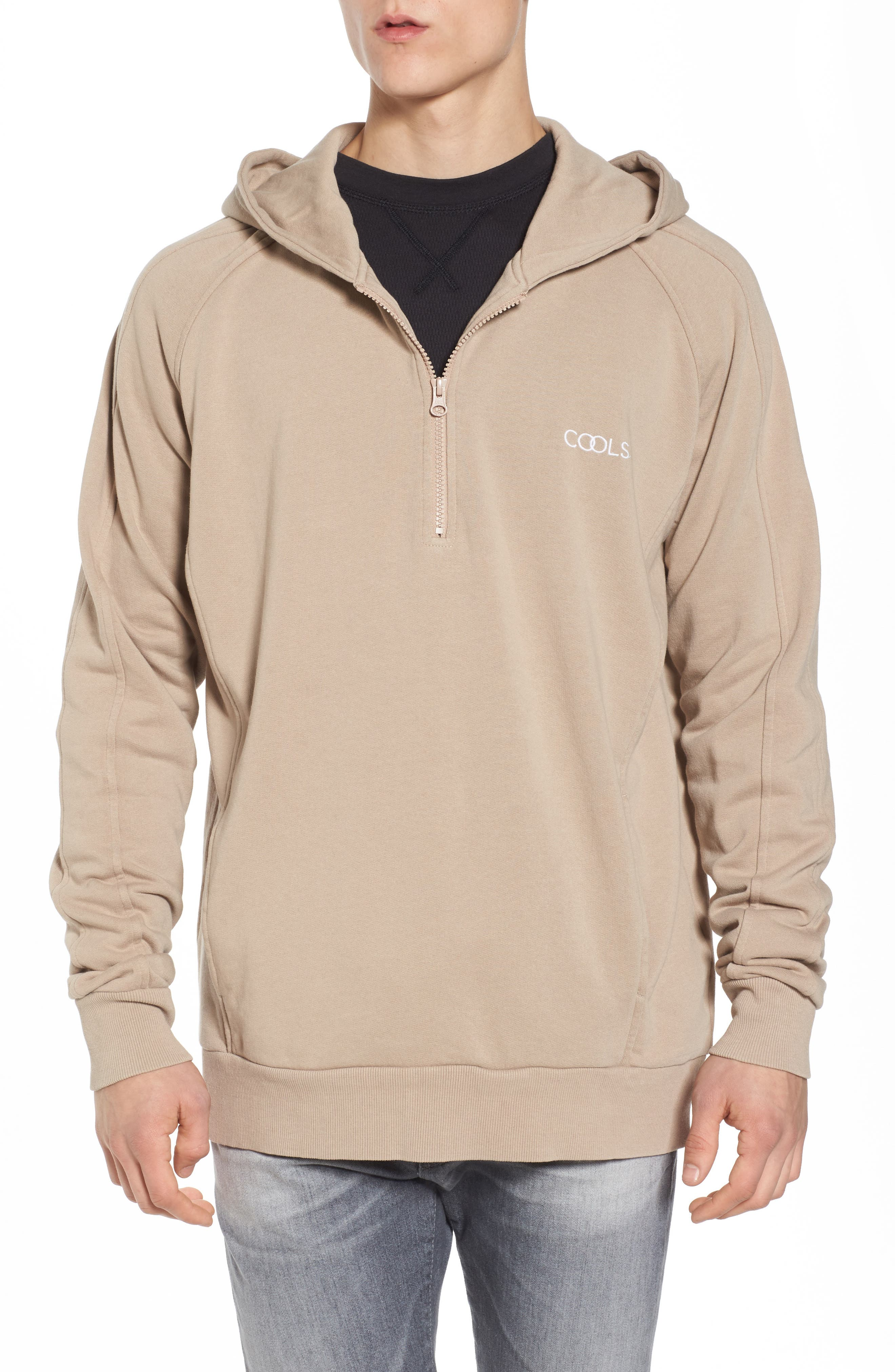 Olympic Zip Pullover Hoodie,                         Main,                         color, 260