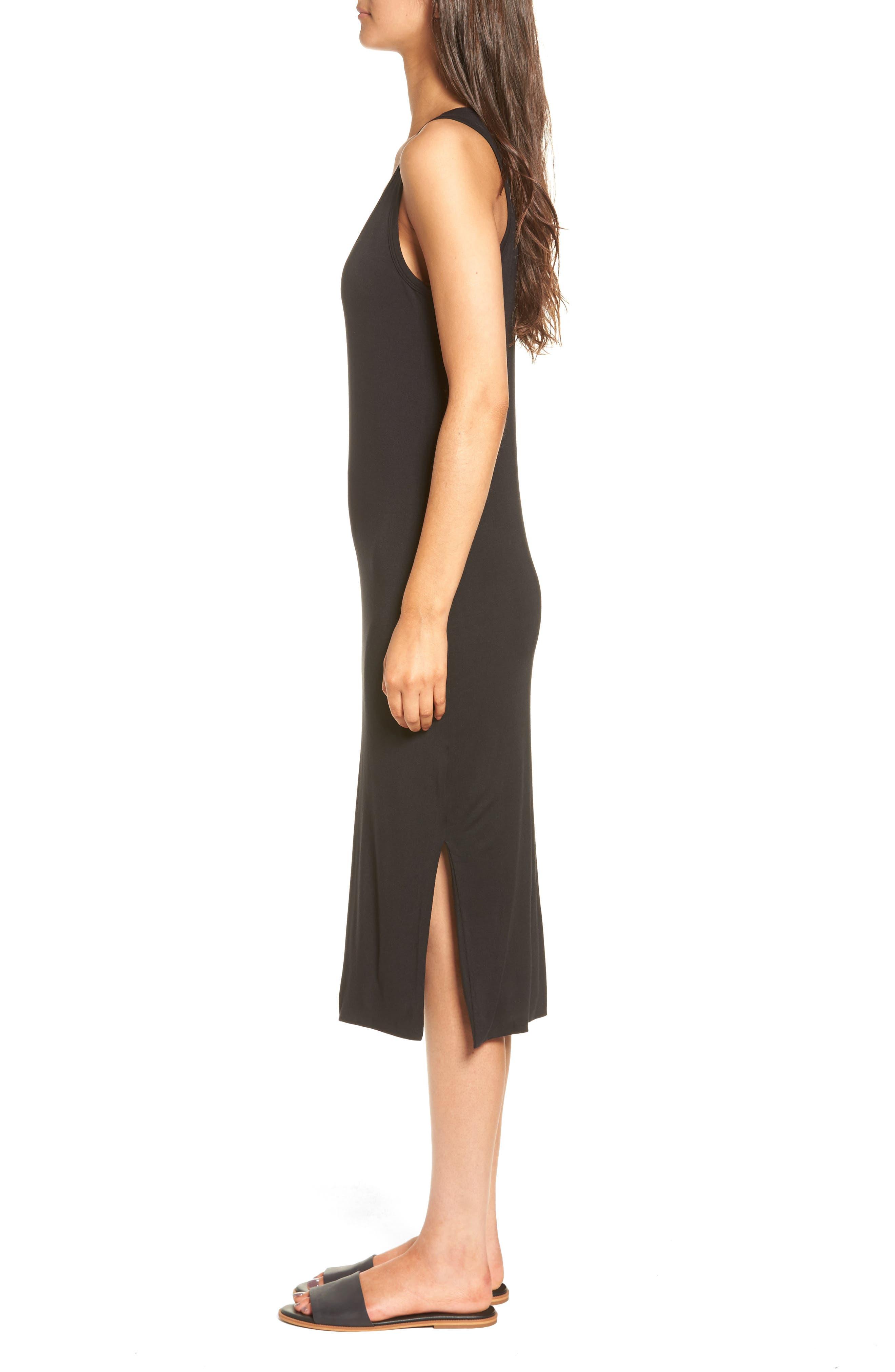 Maddie Knit Dress,                             Alternate thumbnail 3, color,                             001