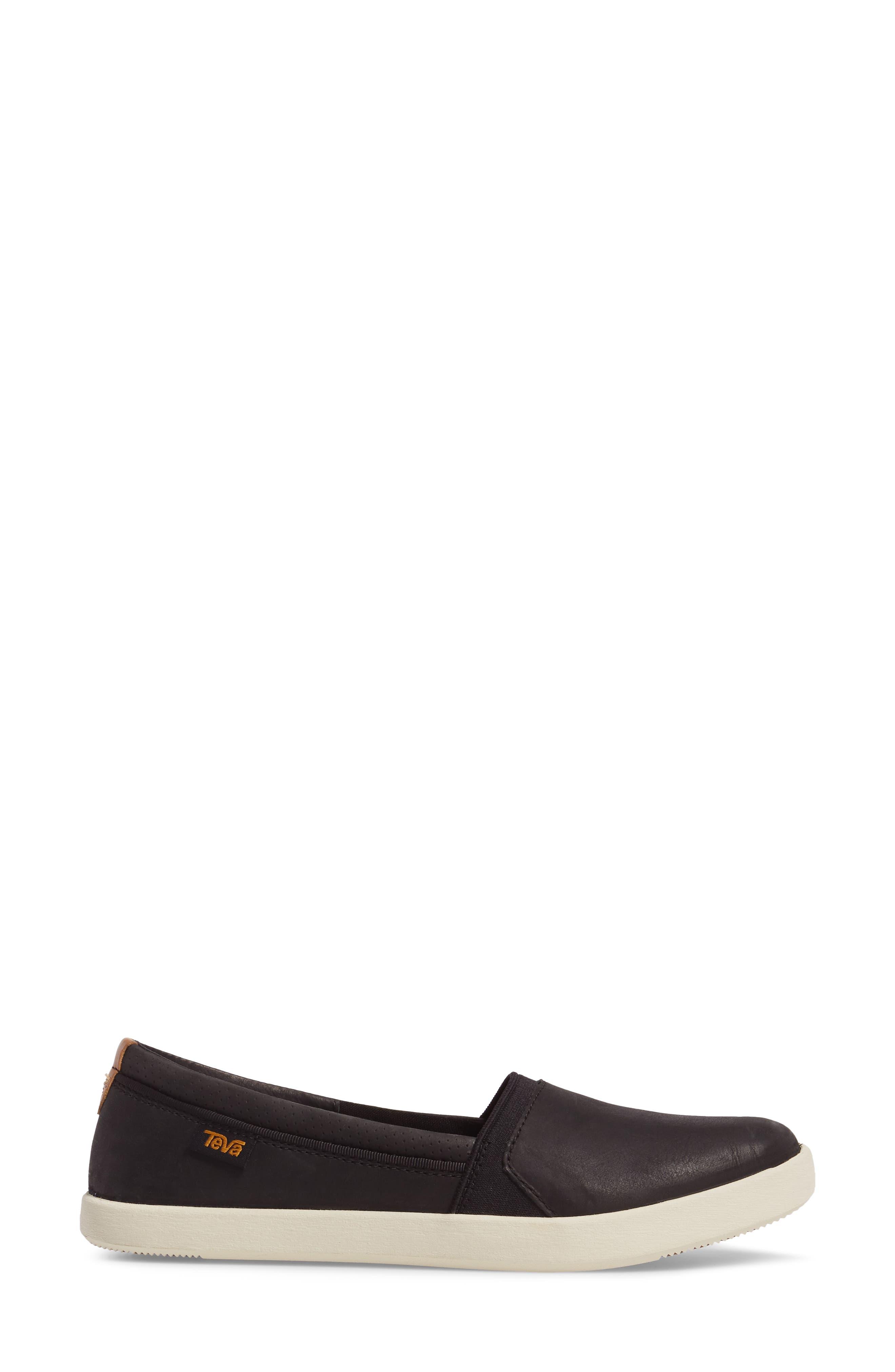 Willow Slip-On Sneaker,                             Alternate thumbnail 3, color,                             001