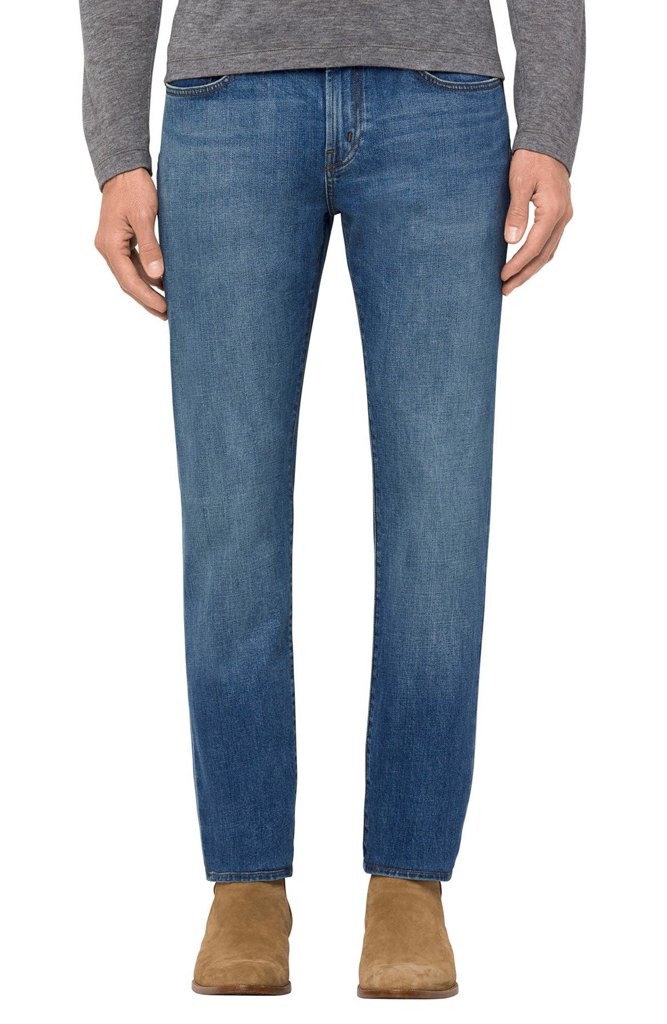 J BRAND Tyler Slim Fit Jeans, Main, color, 420