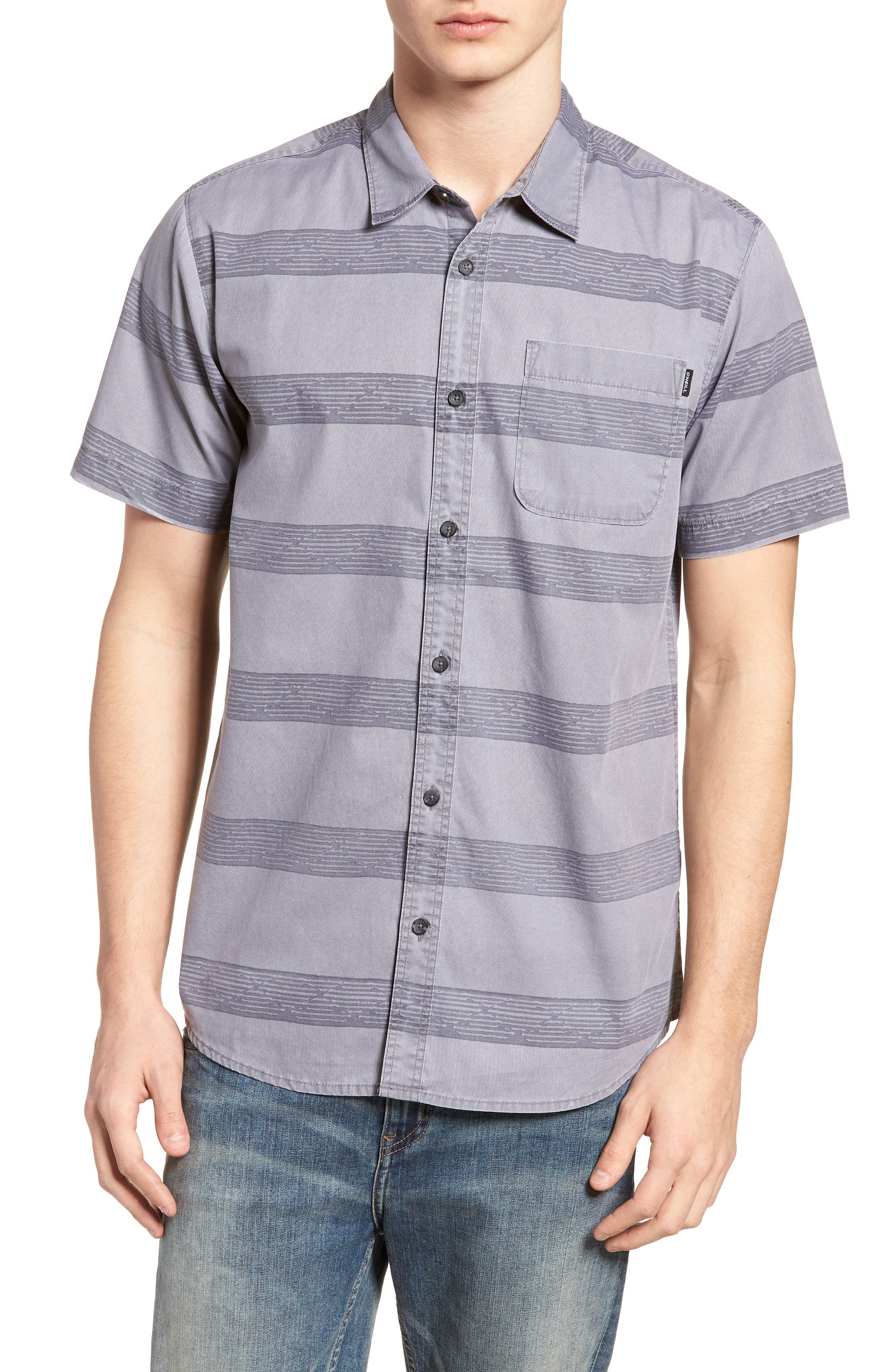 O'NEILL,                             Wagner Woven Shirt,                             Main thumbnail 1, color,                             036