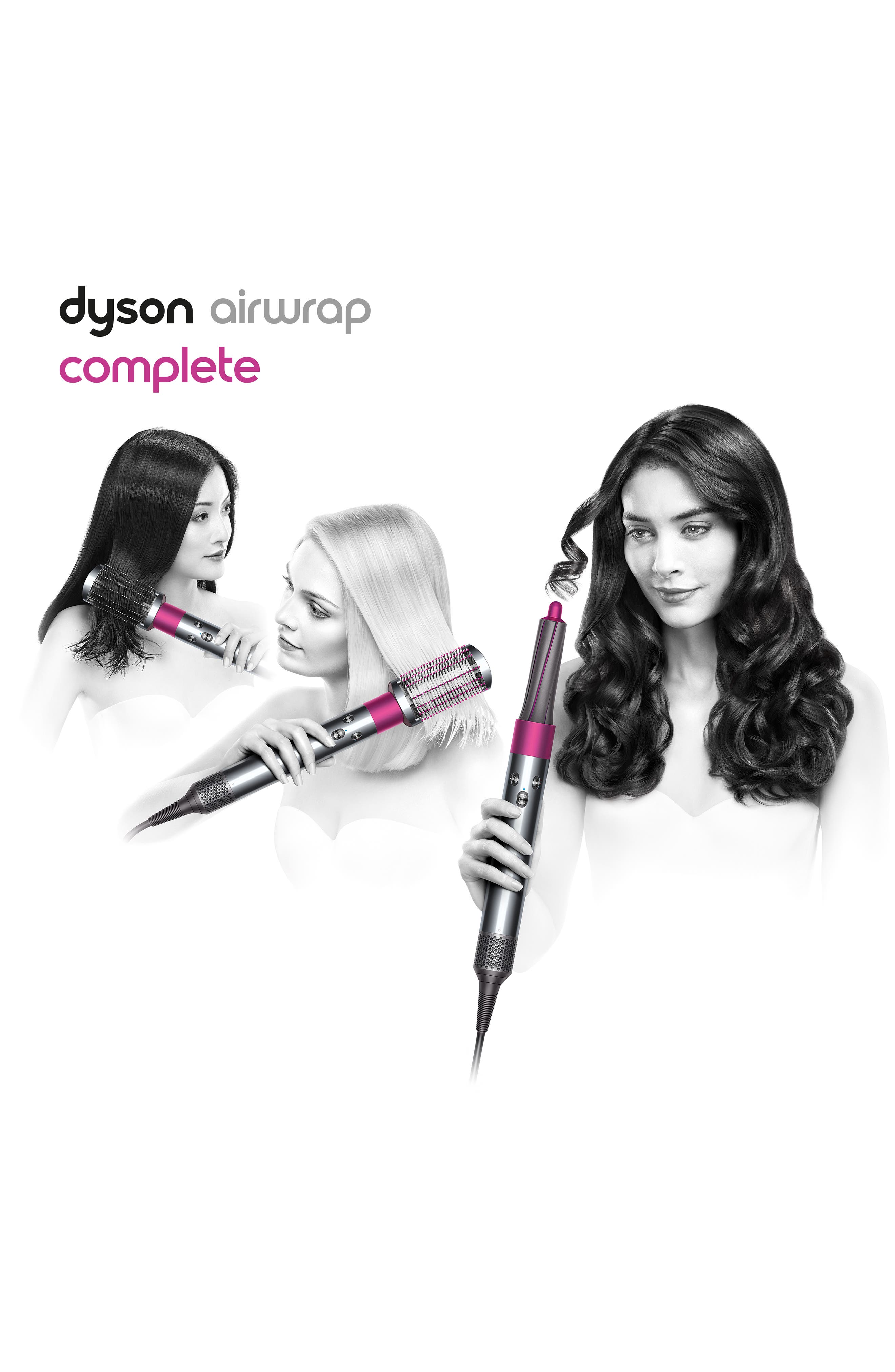 DYSON,                             Airwrap<sup>™</sup> Complete Styler – for Multiple Hair Types and Styles,                             Alternate thumbnail 6, color,                             000