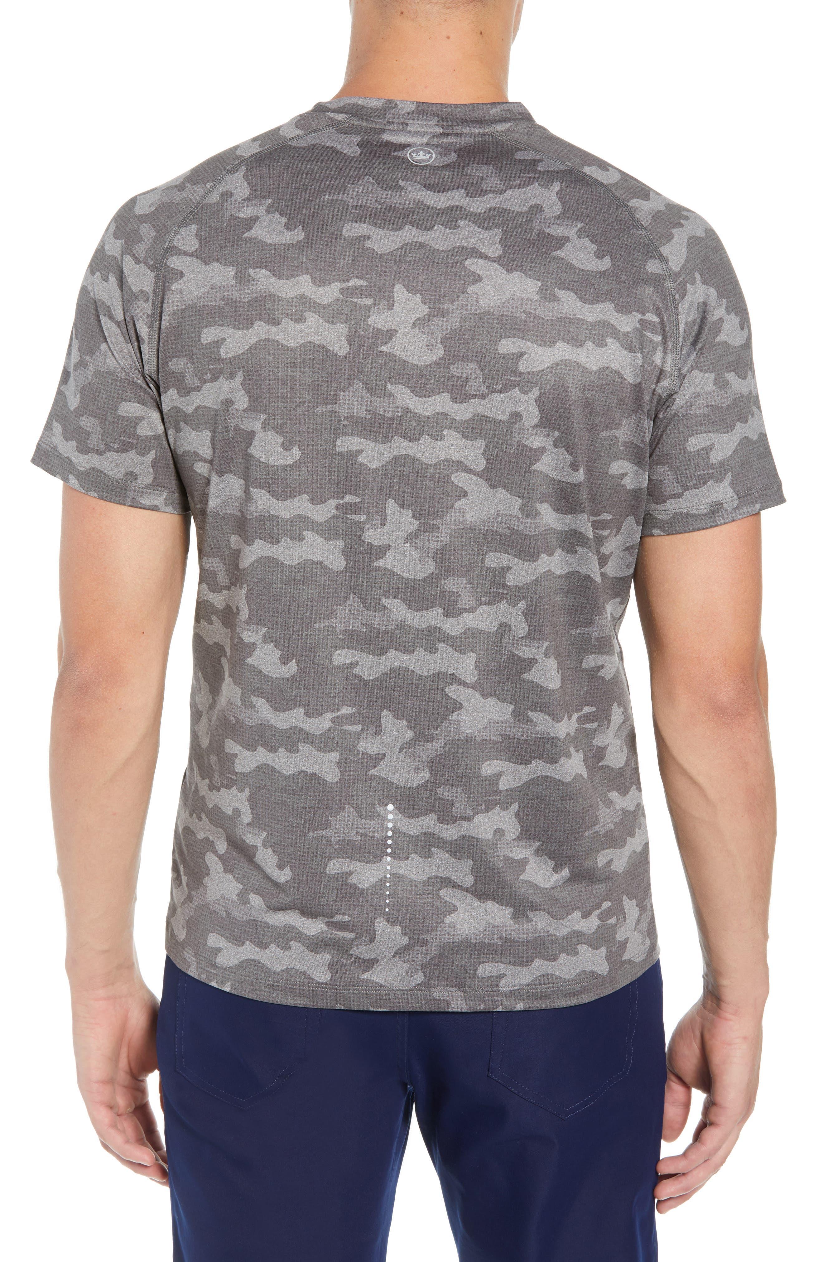 Rio Camo Tech T-Shirt,                             Alternate thumbnail 2, color,                             GREY