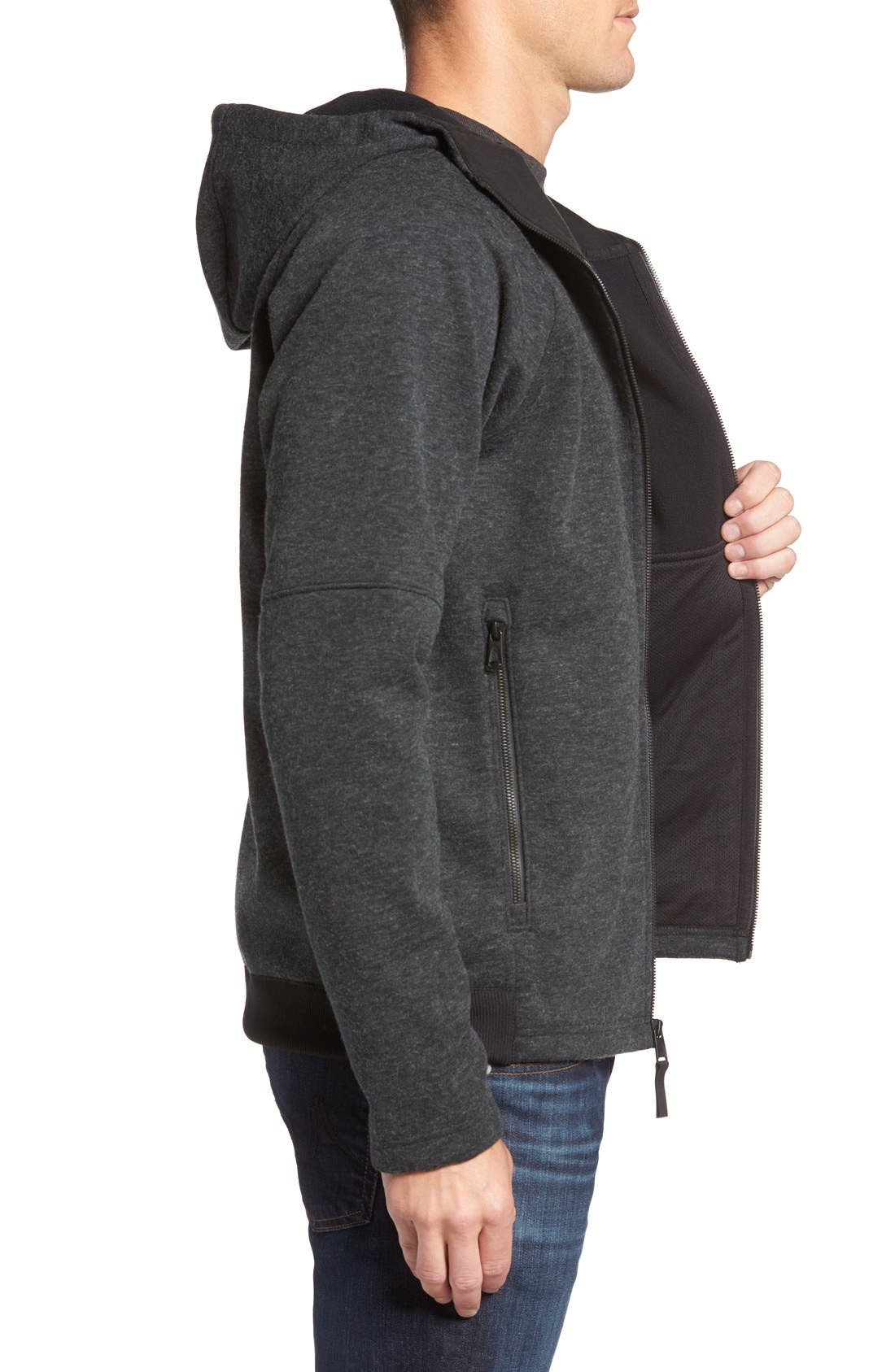 THE NORTH FACE,                             Far Northern Hoodie,                             Alternate thumbnail 4, color,                             001