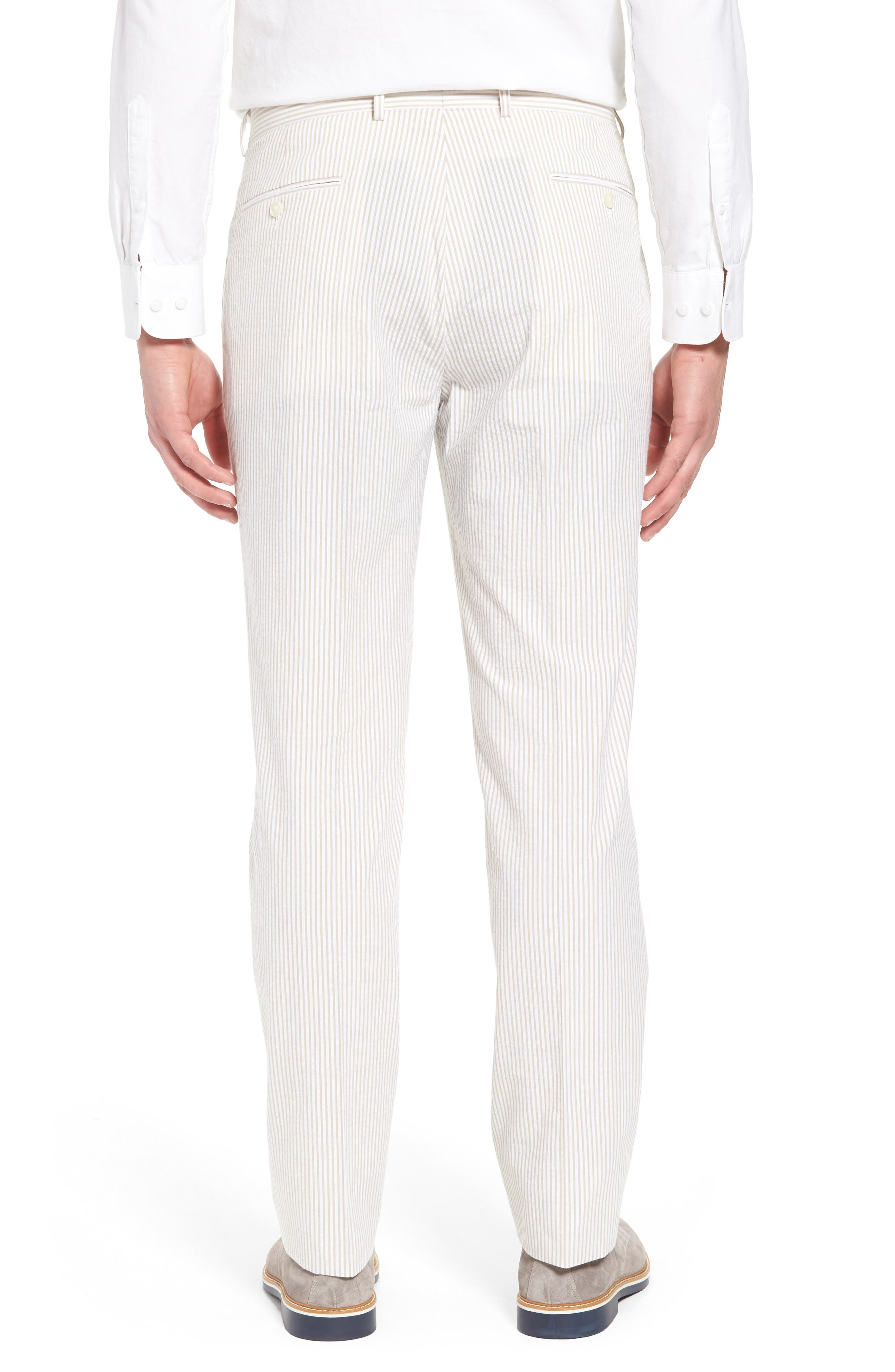 Andrew AIM Flat Front Seersucker Trousers,                             Alternate thumbnail 2, color,                             250