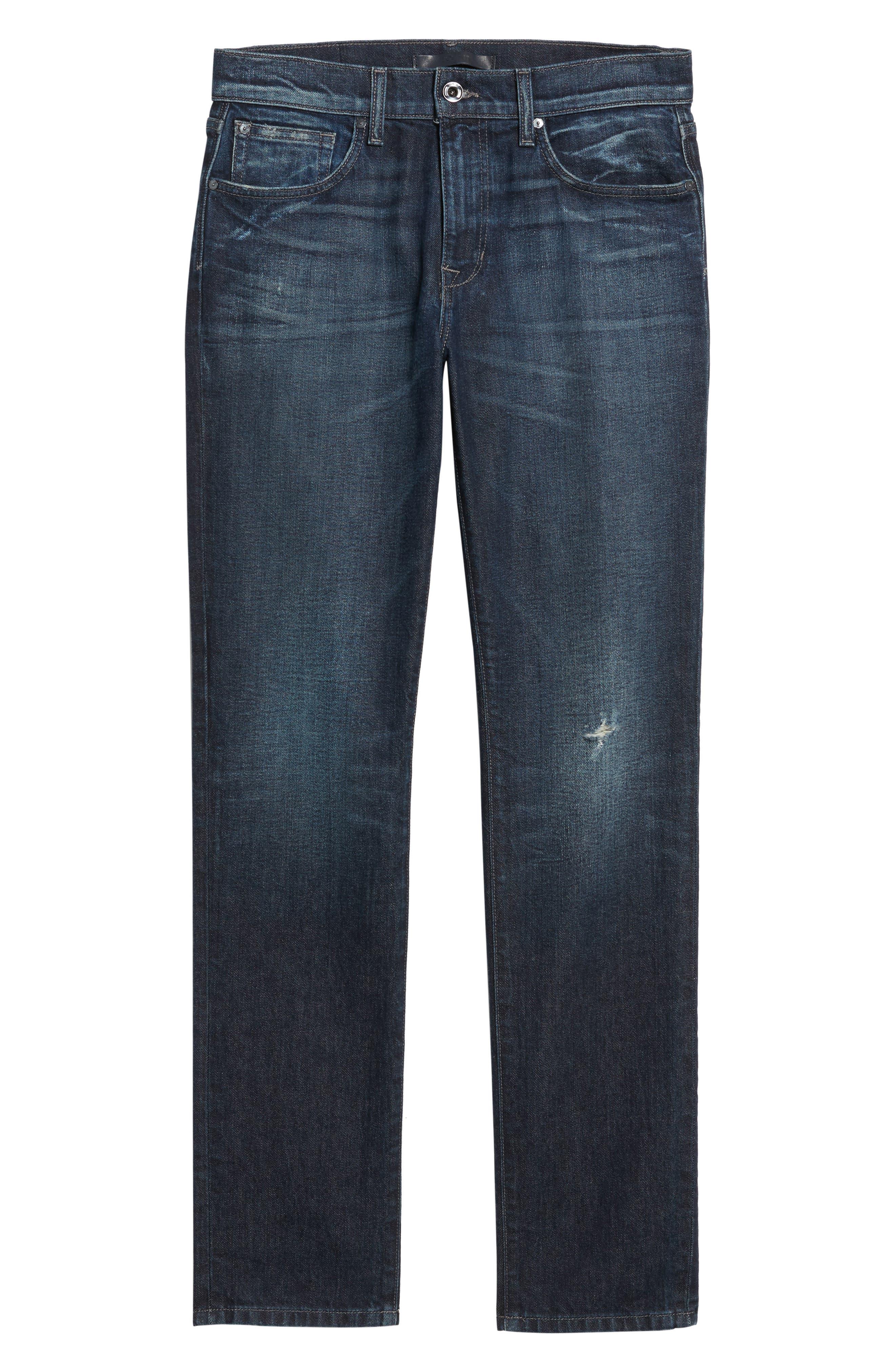 Brixton Slim Straight Leg Jeans,                             Alternate thumbnail 6, color,                             415
