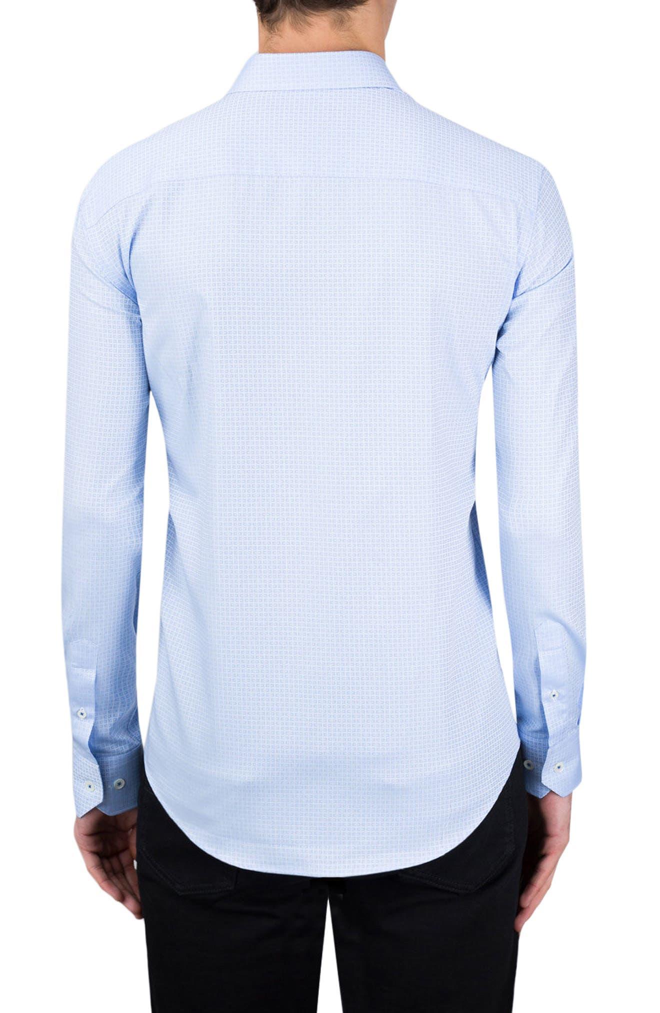 Shaped Fit Sport Shirt,                             Alternate thumbnail 2, color,