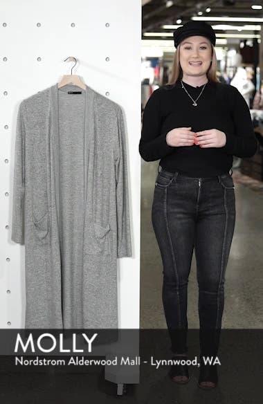 Long Fleece Open Cardigan, sales video thumbnail