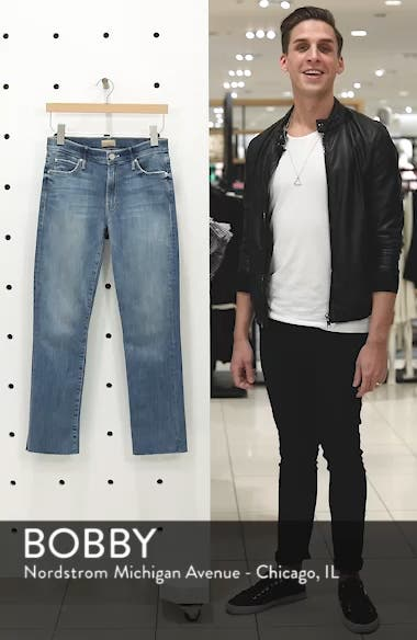 The Rascal Ankle Snippet Straight Leg Jeans, sales video thumbnail