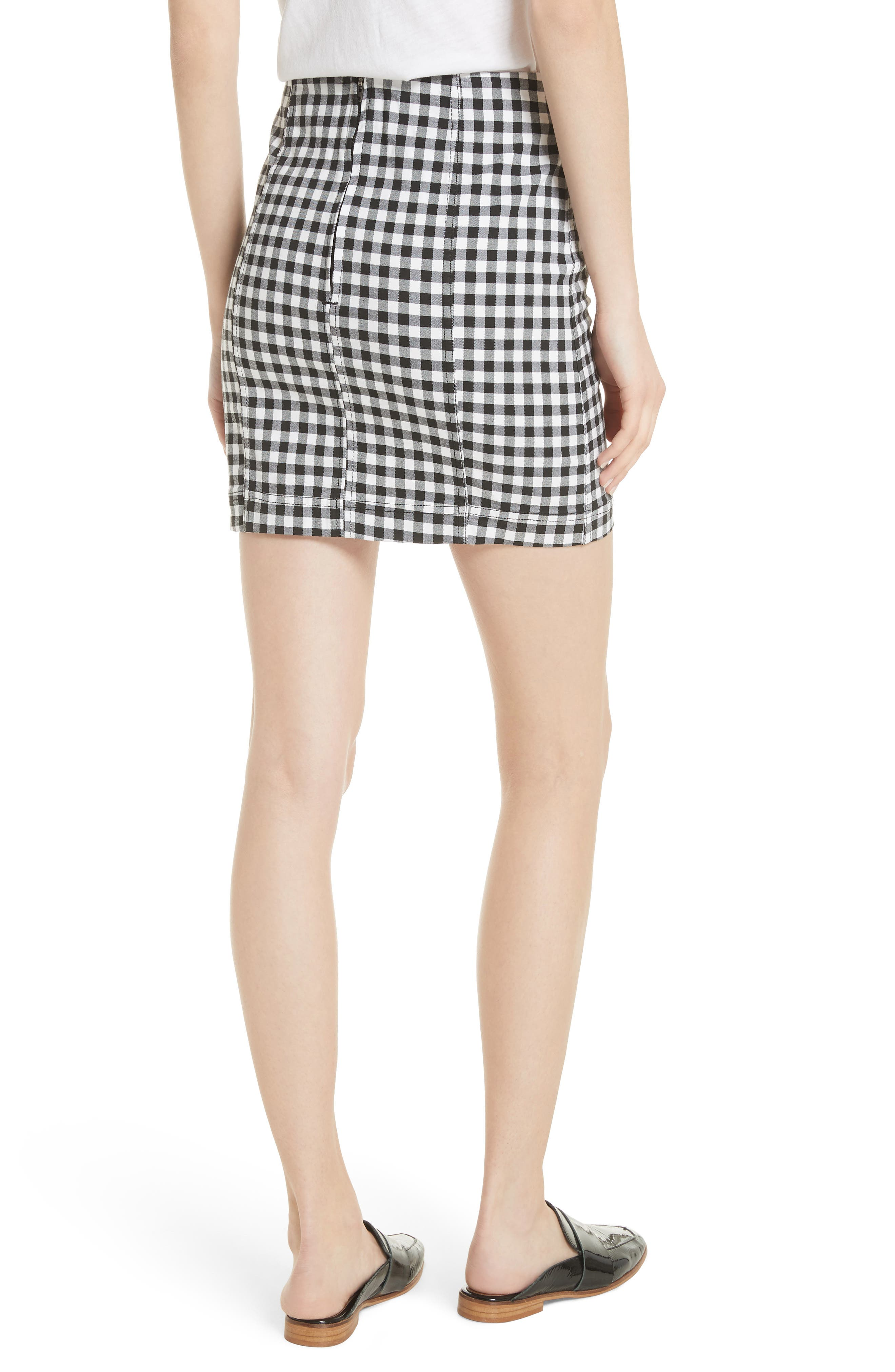 We the Free by Free People Modern Femme Miniskirt,                             Alternate thumbnail 2, color,                             MULTI