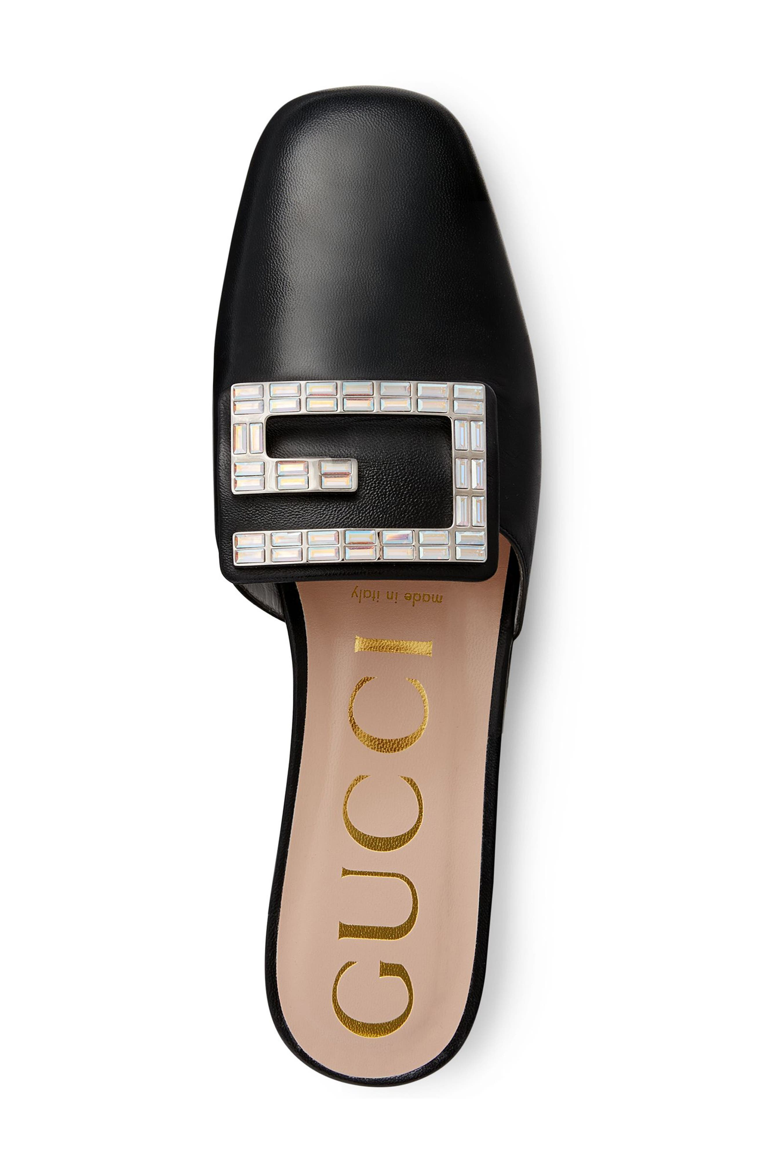 GUCCI,                             Madelyn Mule,                             Alternate thumbnail 4, color,                             BLACK