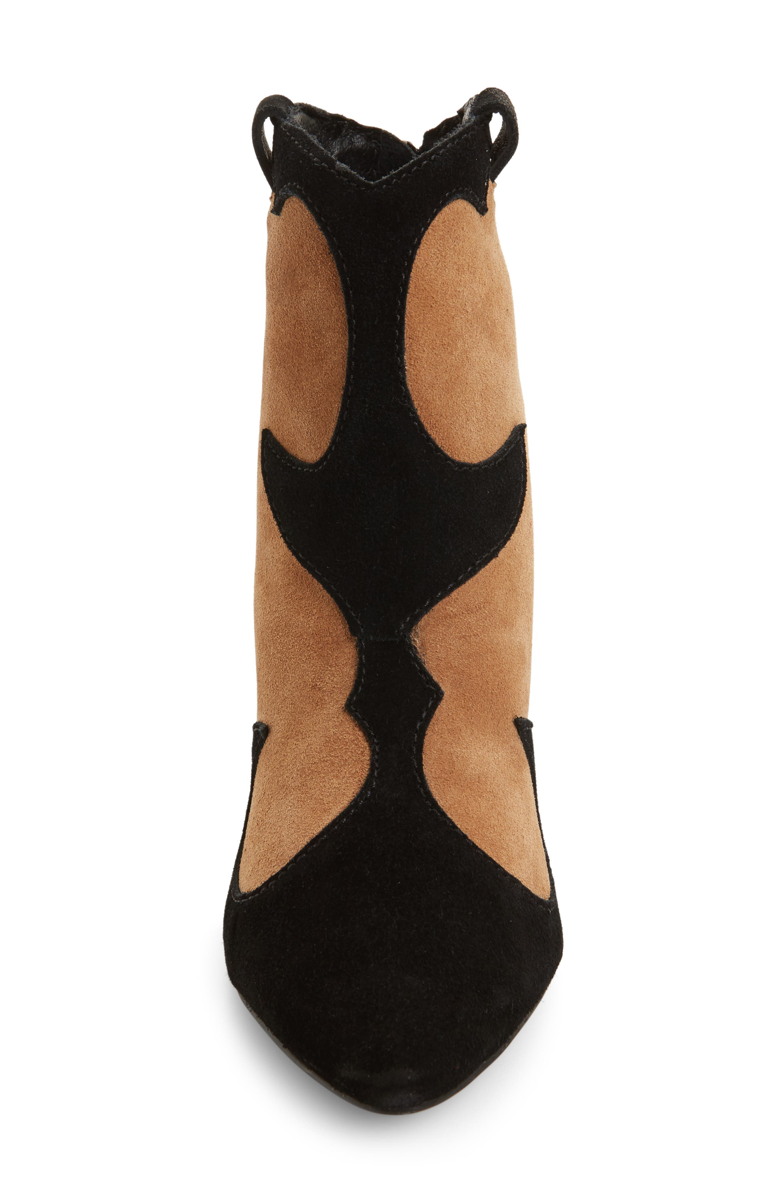 Majesty Two-Tone Bootie,                             Alternate thumbnail 3, color,