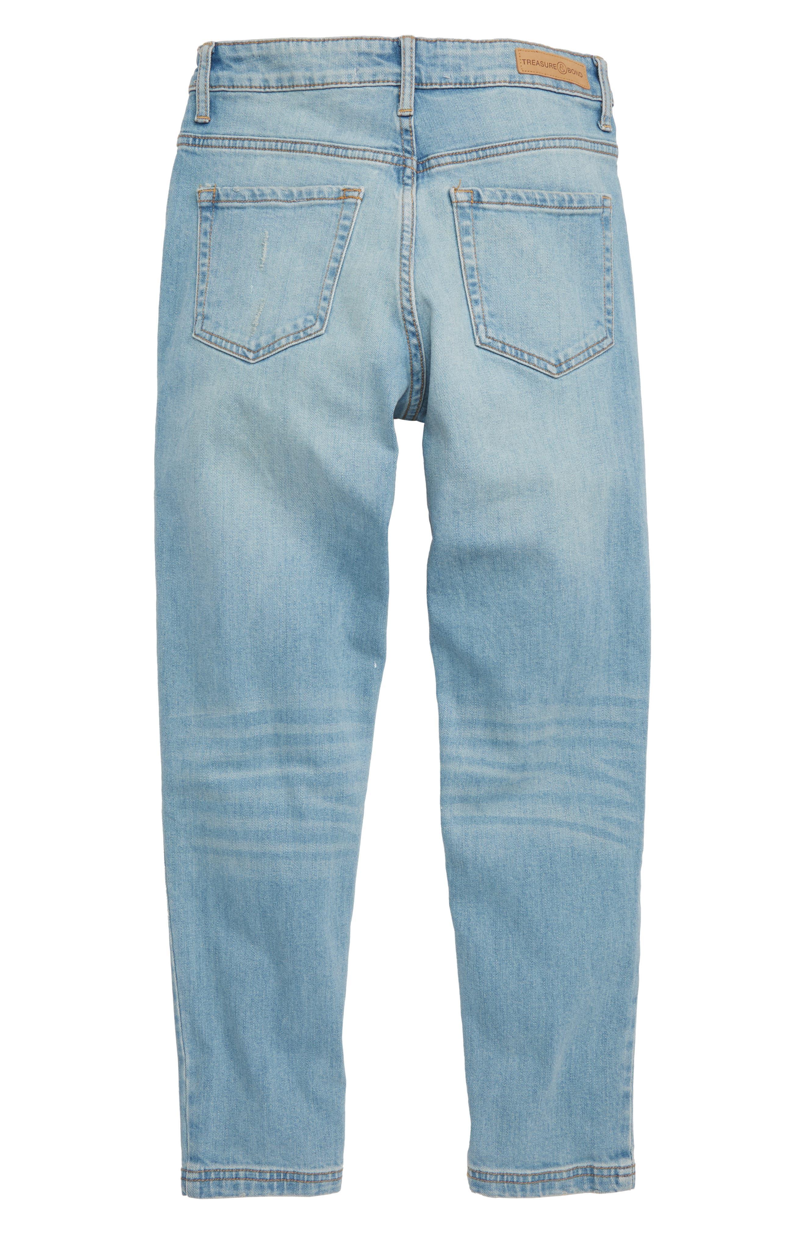 High Waist Mum Jeans,                             Alternate thumbnail 2, color,                             RAPIDS WASH