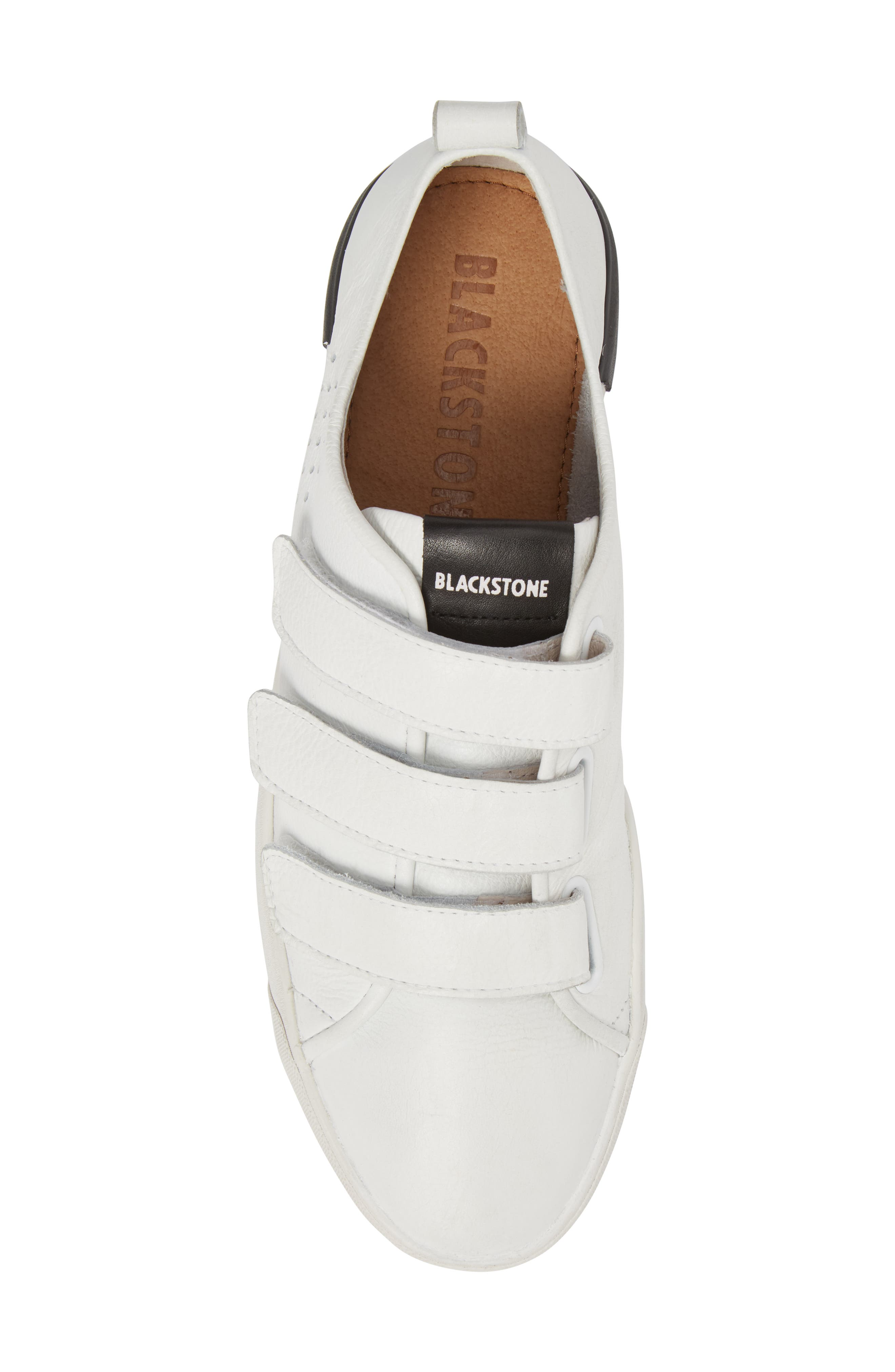 PM41 Low Top Sneaker,                             Alternate thumbnail 5, color,                             WHITE LEATHER