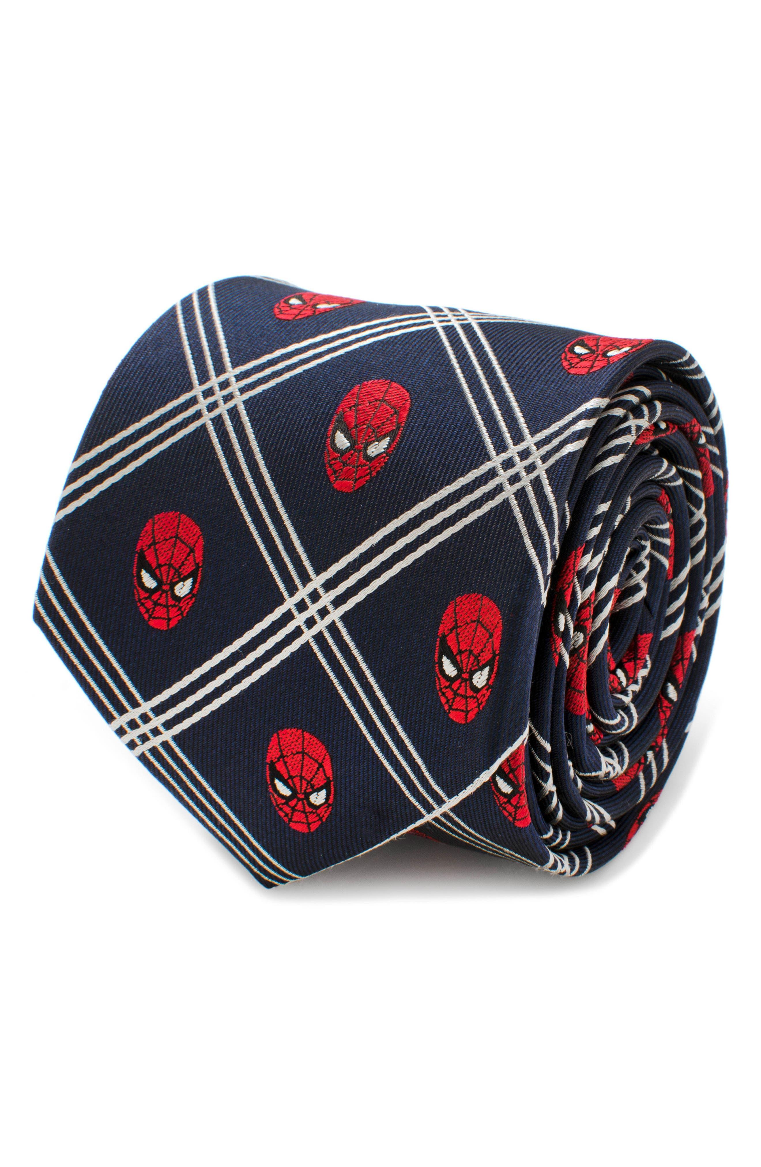 Spider-Man Silk Tie,                         Main,                         color, 400
