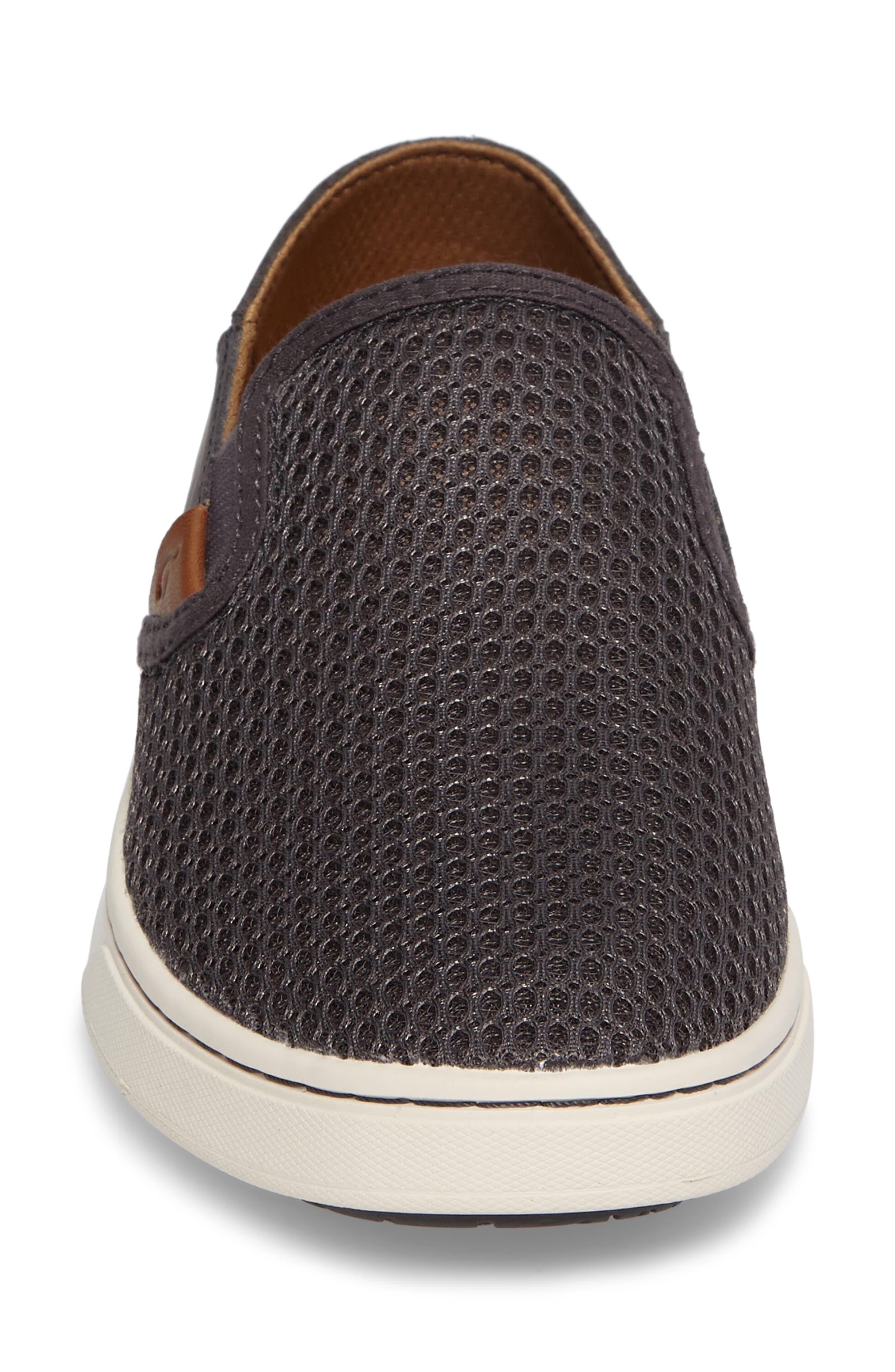 'Pehuea' Slip-On Sneaker,                             Alternate thumbnail 4, color,                             PAVEMENT/ PAVEMENT FABRIC