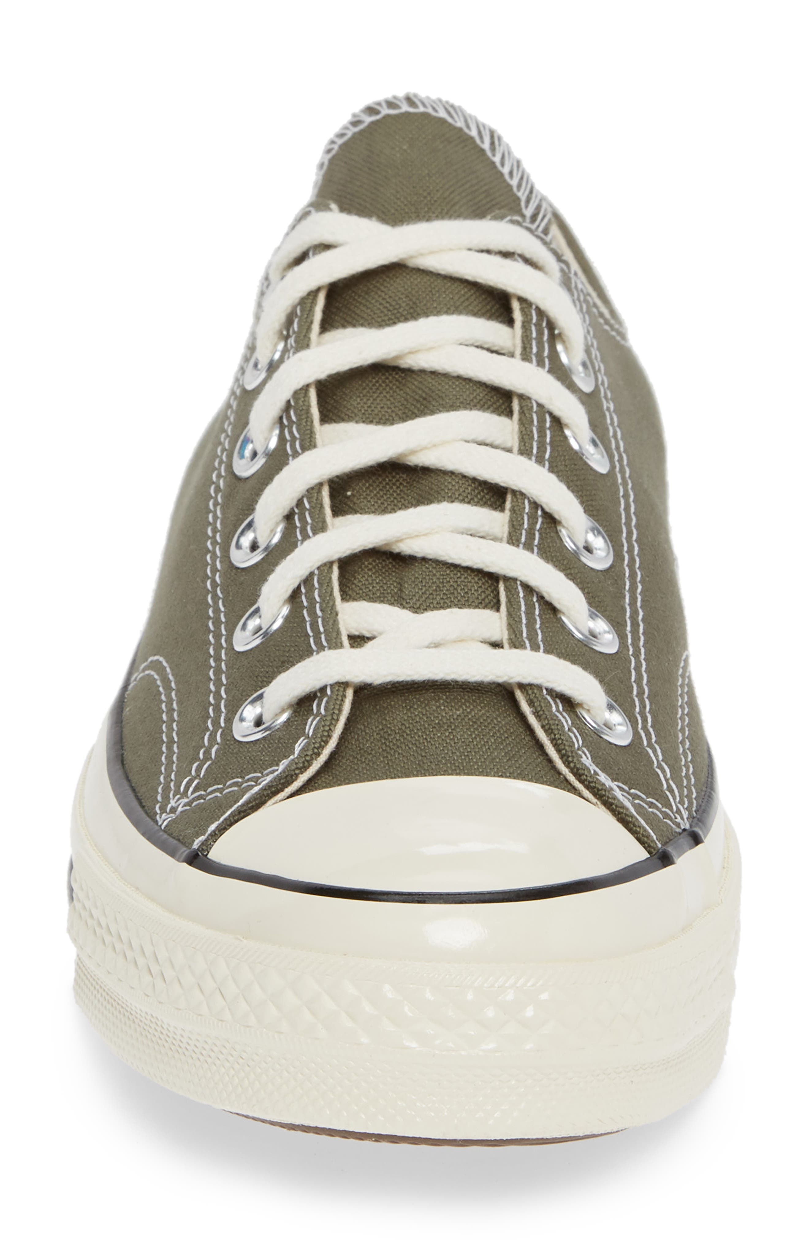 Chuck Taylor<sup>®</sup> All Star<sup>®</sup> '70 Low Sneaker,                             Alternate thumbnail 4, color,                             FIELD SURPLUS/ BLACK/ EGRET