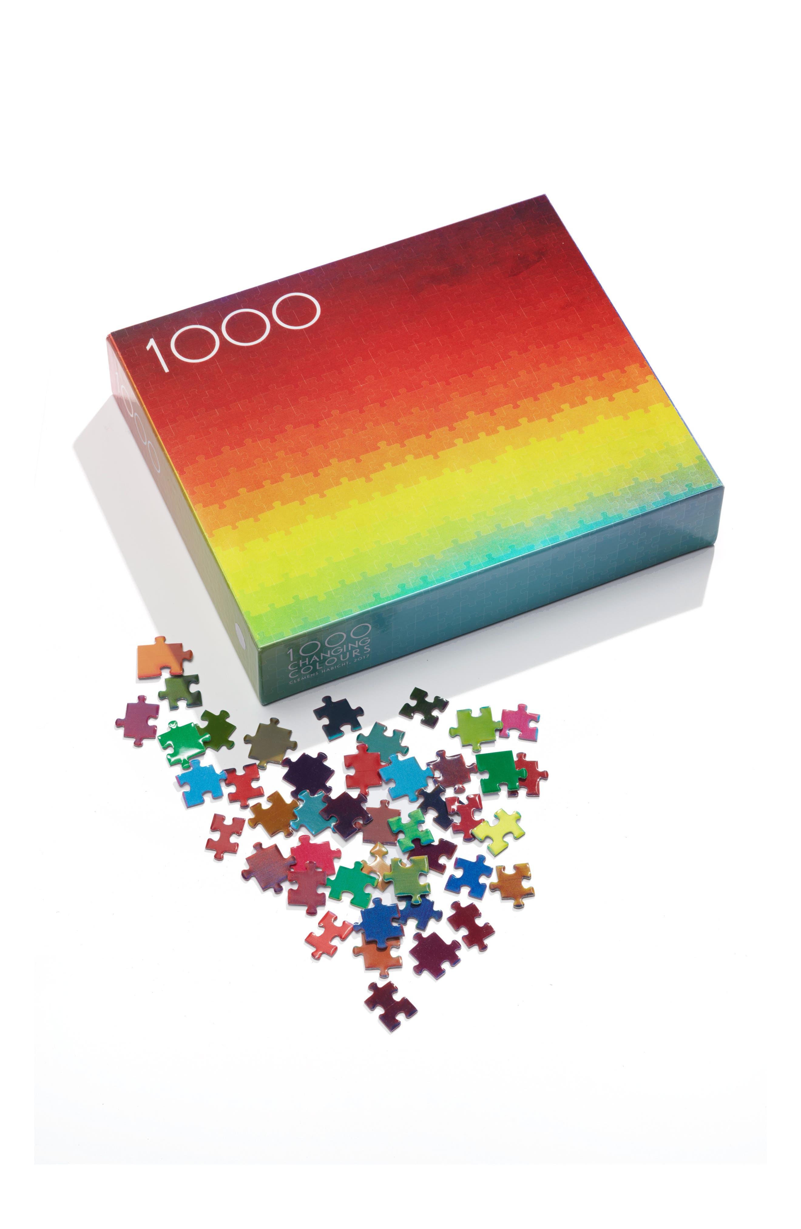 Clemens Habicht's Changing Colours 1000-Piece Puzzle,                             Main thumbnail 1, color,                             960