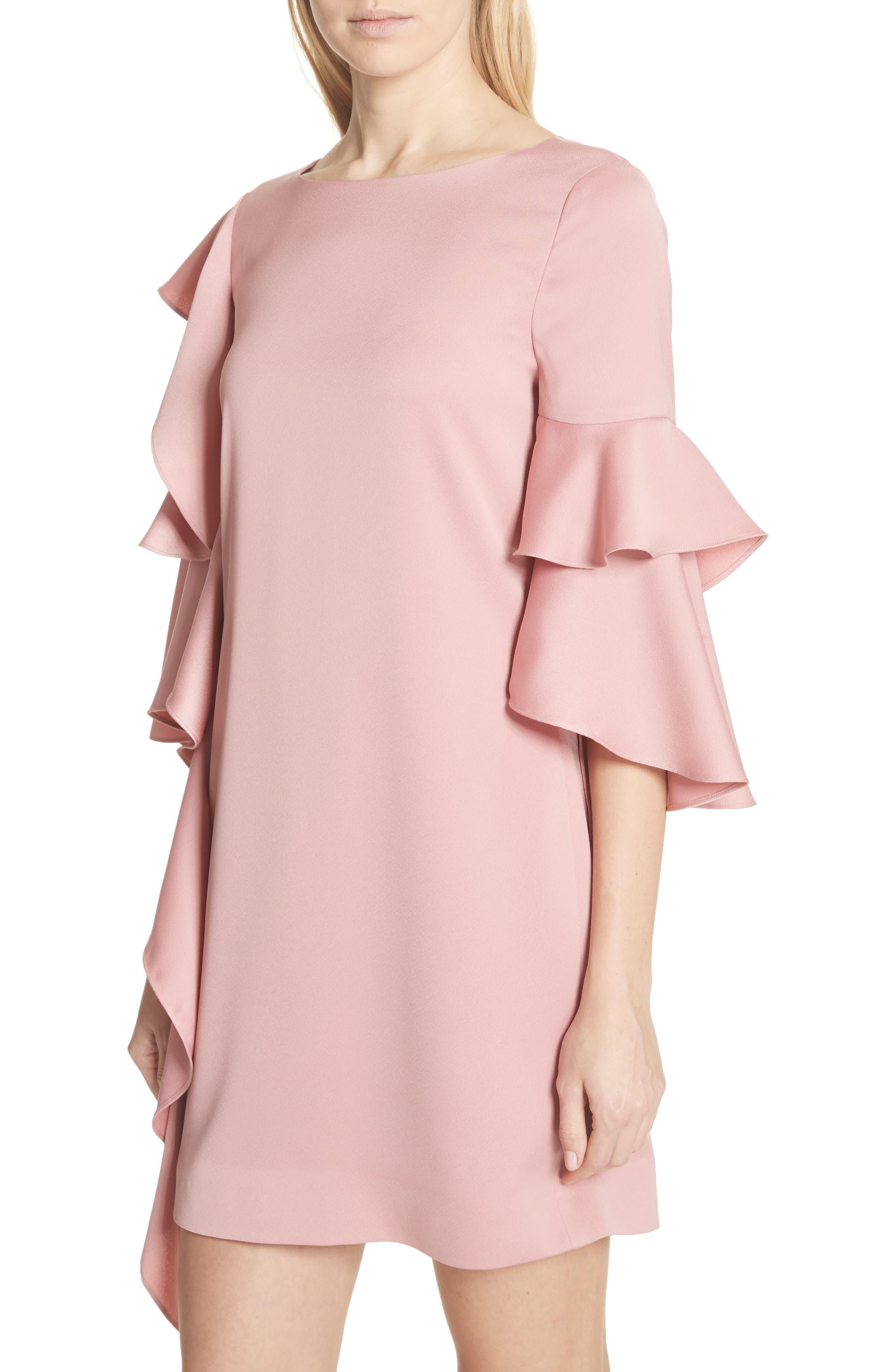 Ruffle Tunic Dress,                             Alternate thumbnail 4, color,                             660