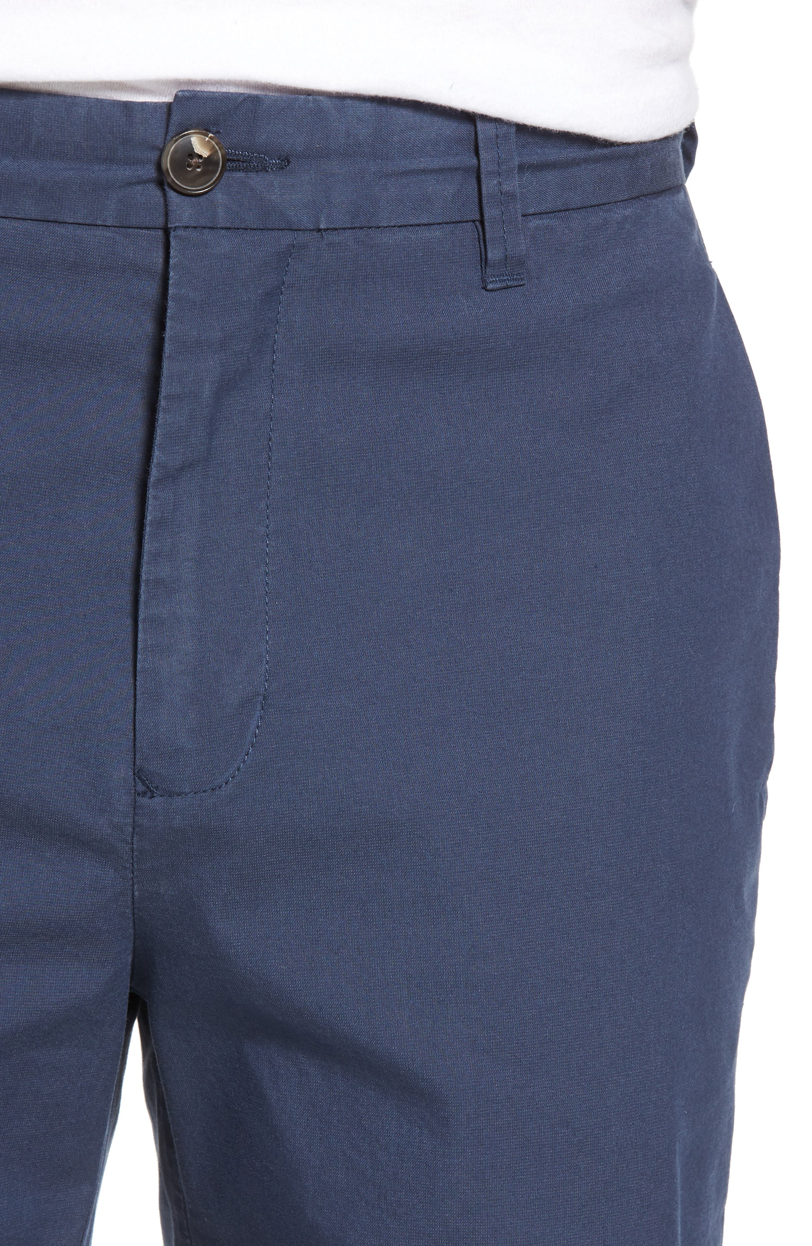 Broadway Regular Fit Chino Shorts,                             Alternate thumbnail 4, color,                             413