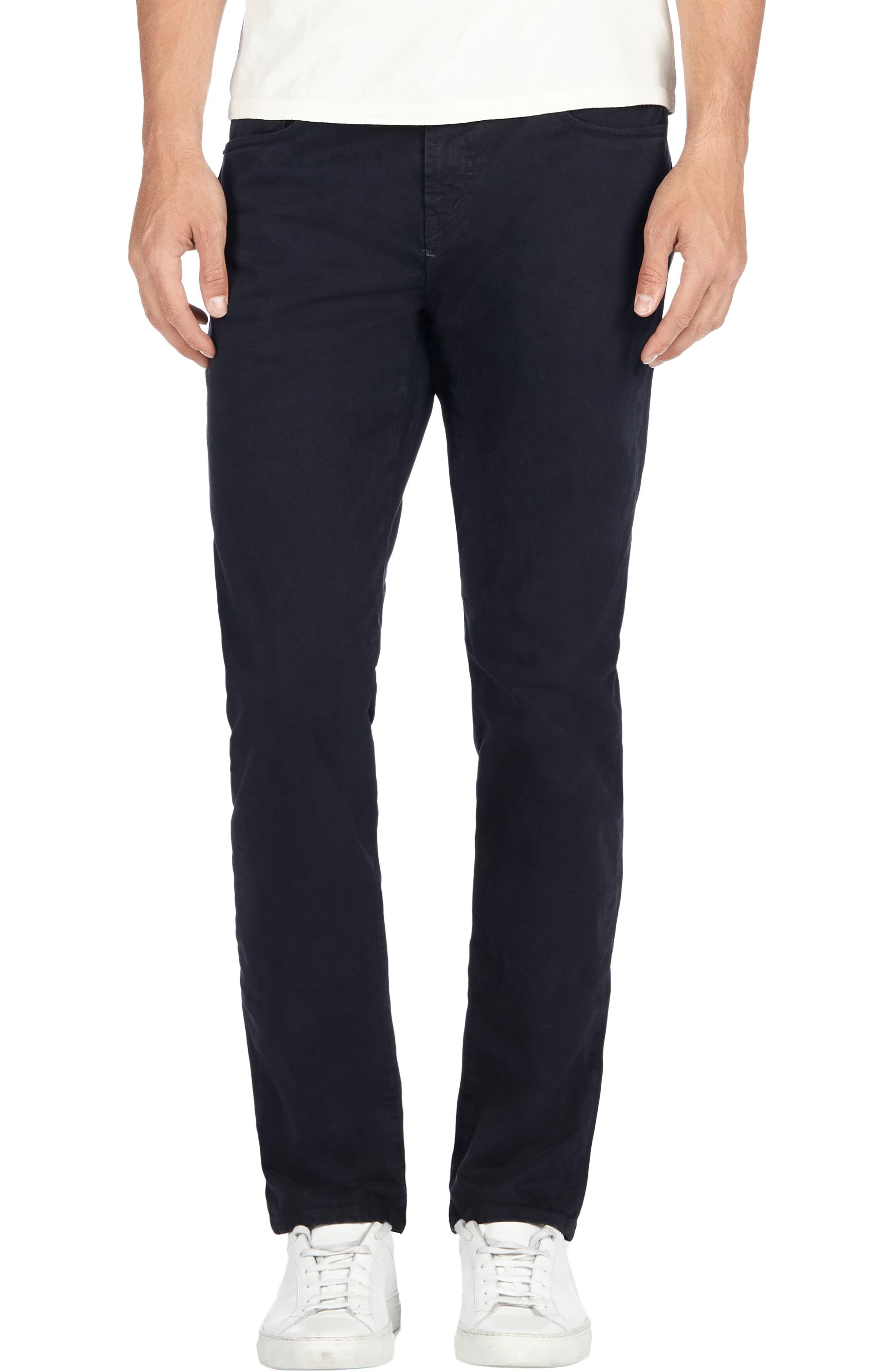 'Kane' Slim Fit Cotton Twill Pants,                             Main thumbnail 1, color,                             411