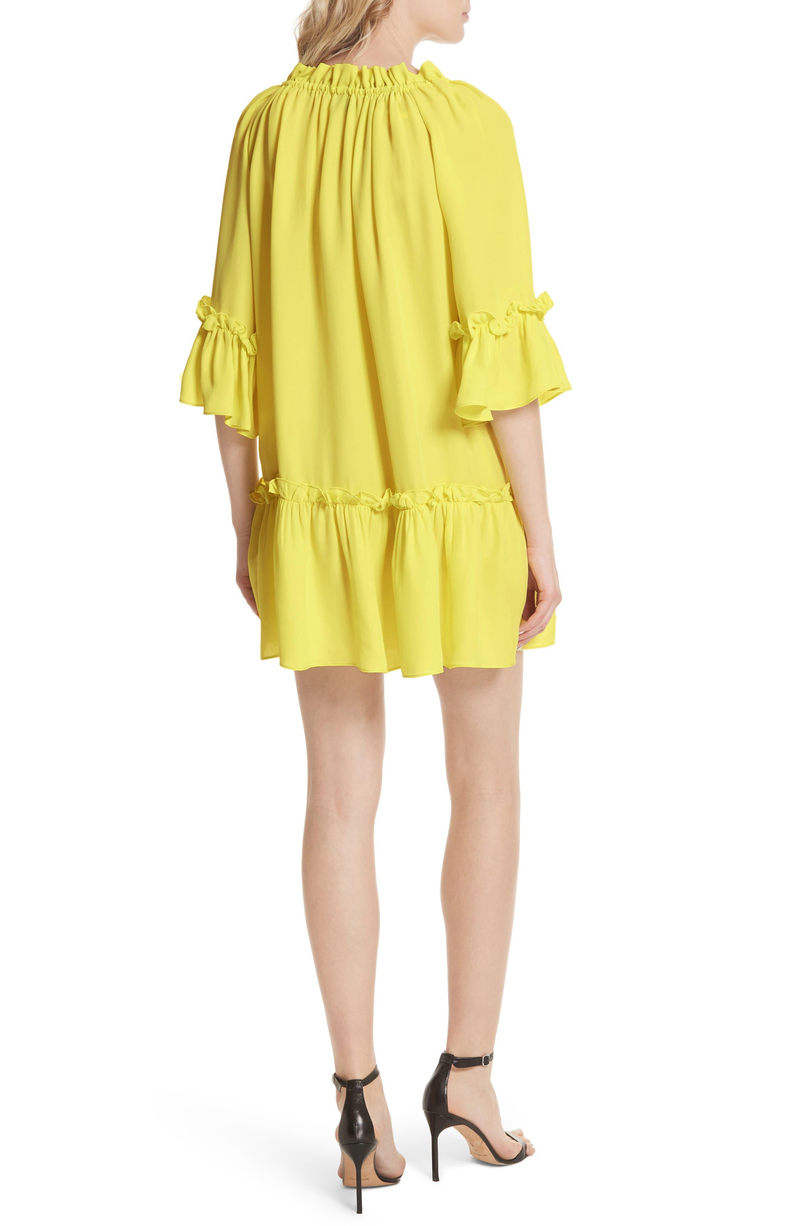 Santorini Ruffle Mini Dress,                             Alternate thumbnail 2, color,                             750