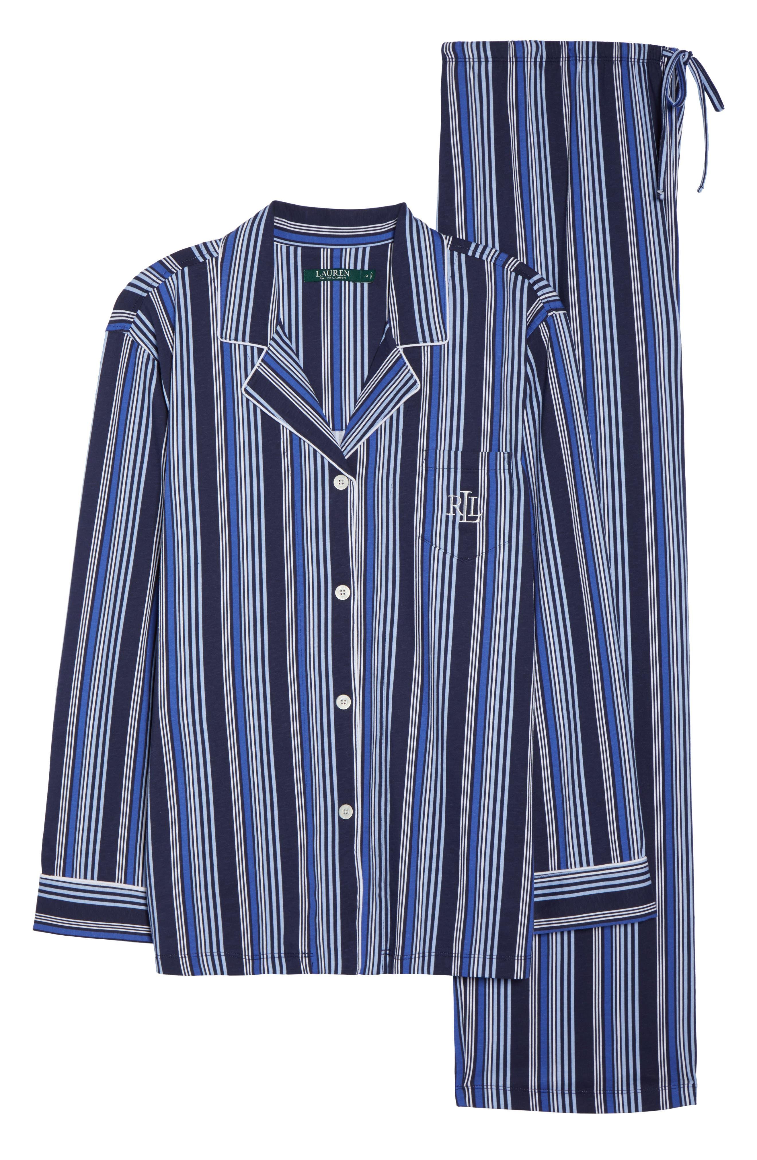 Stripe Pajamas,                             Alternate thumbnail 6, color,                             486