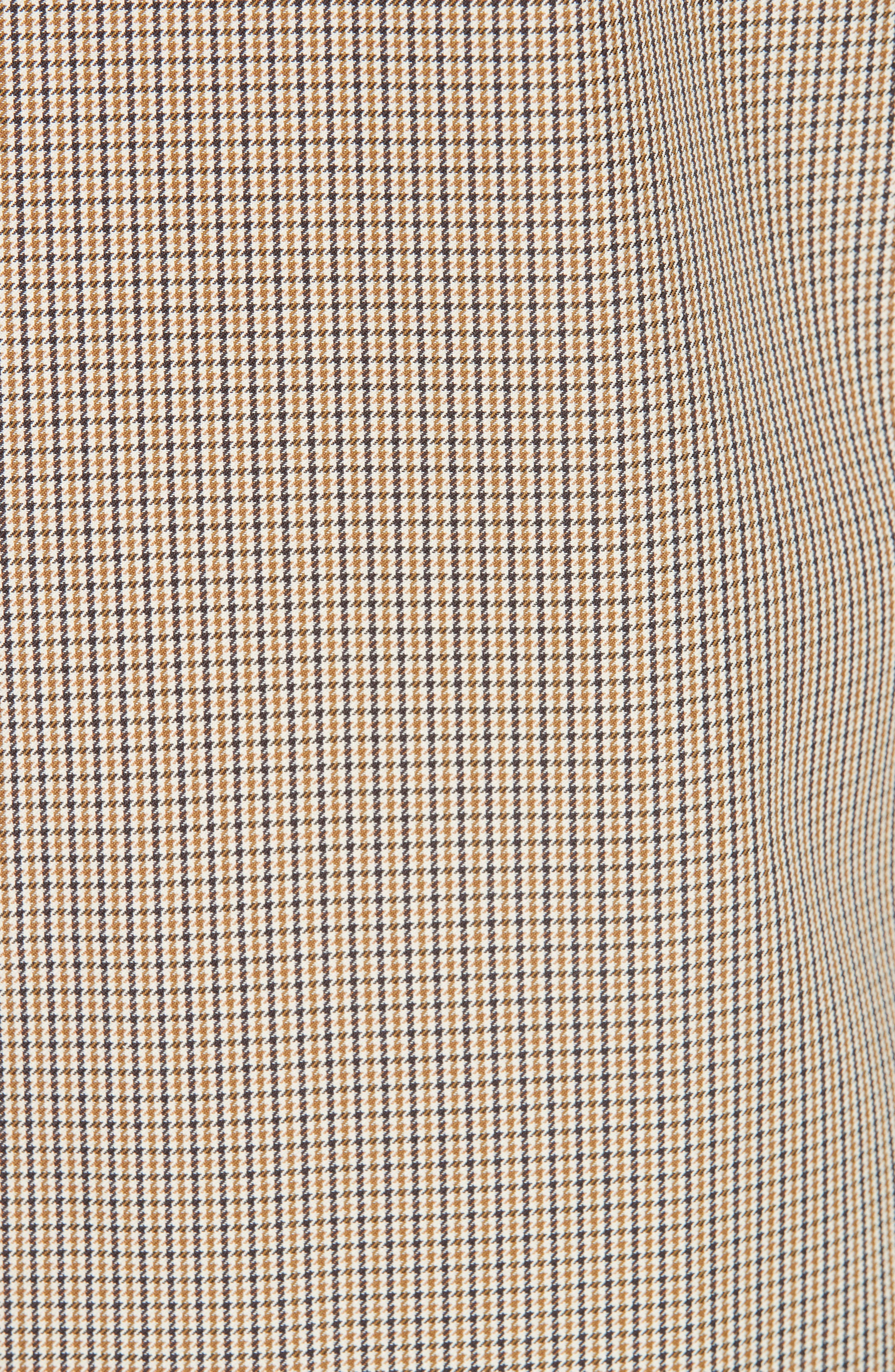 Puppytooth Check Mac Coat,                             Alternate thumbnail 6, color,                             251
