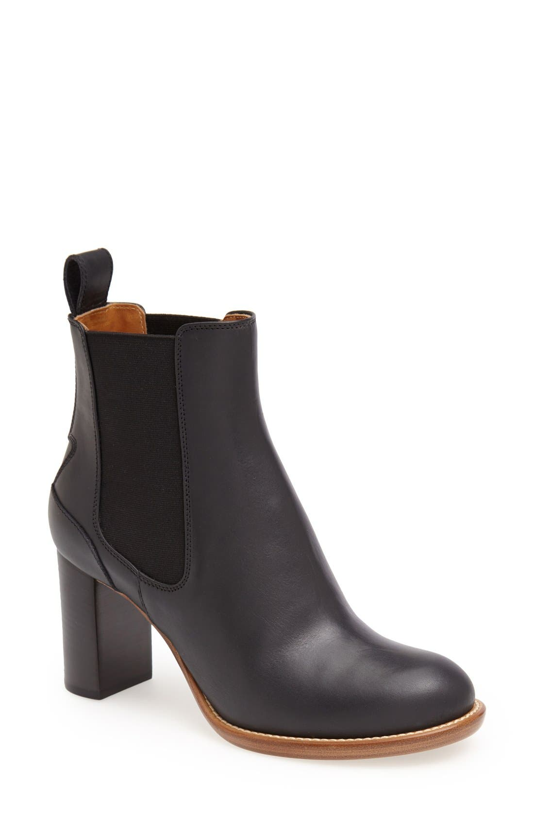 'Bernie' Chelsea Boot,                             Main thumbnail 1, color,                             001