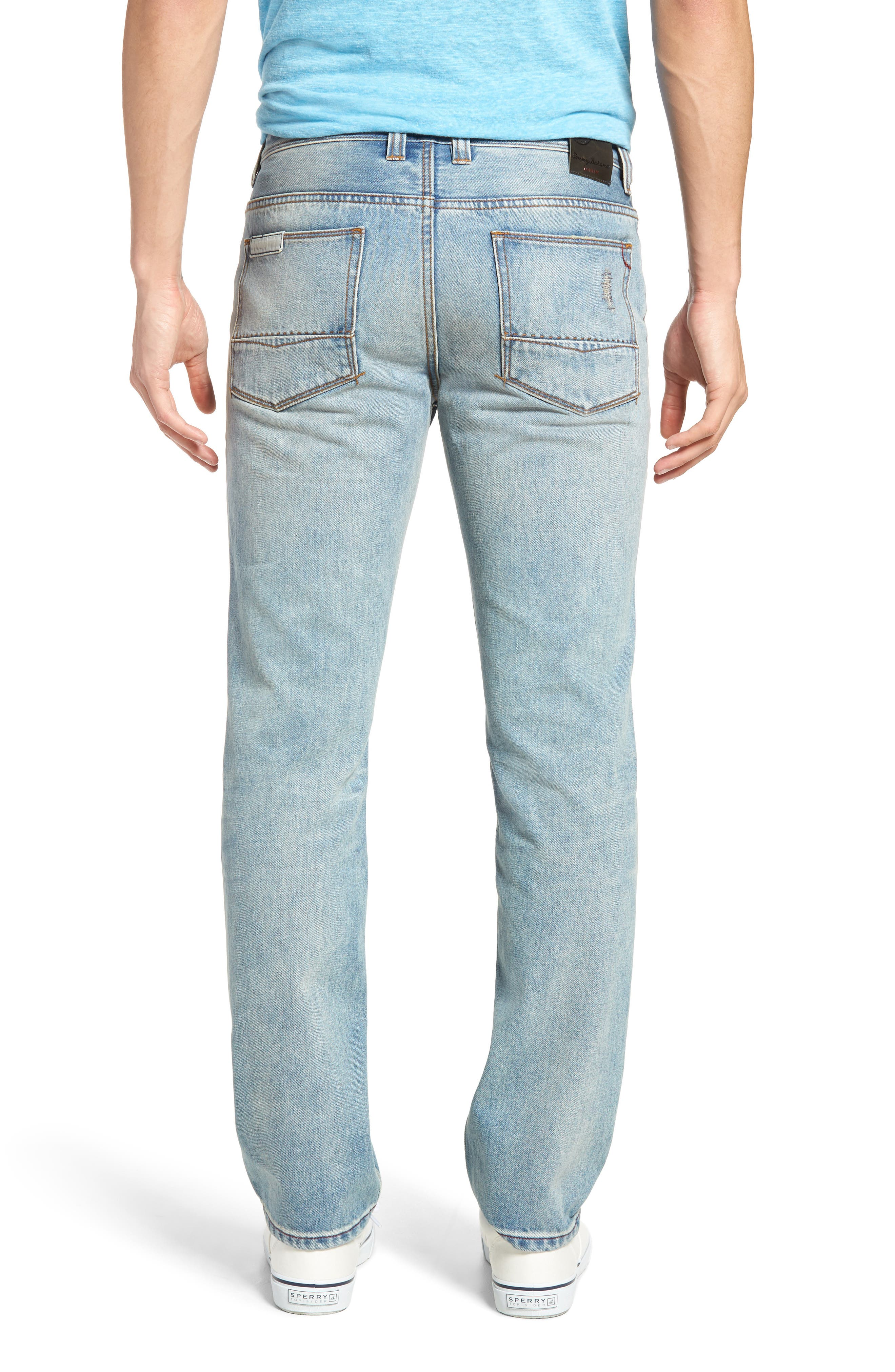 Castaway Slim Fit Jeans,                             Alternate thumbnail 2, color,                             400