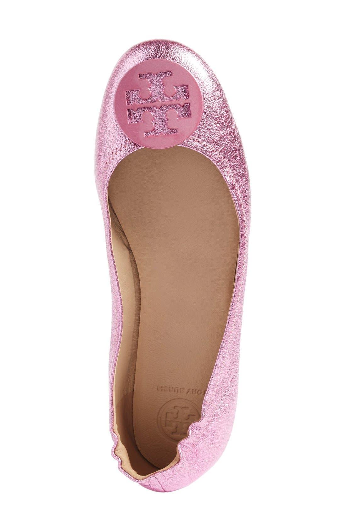 'Minnie' Travel Ballet Flat,                             Alternate thumbnail 130, color,